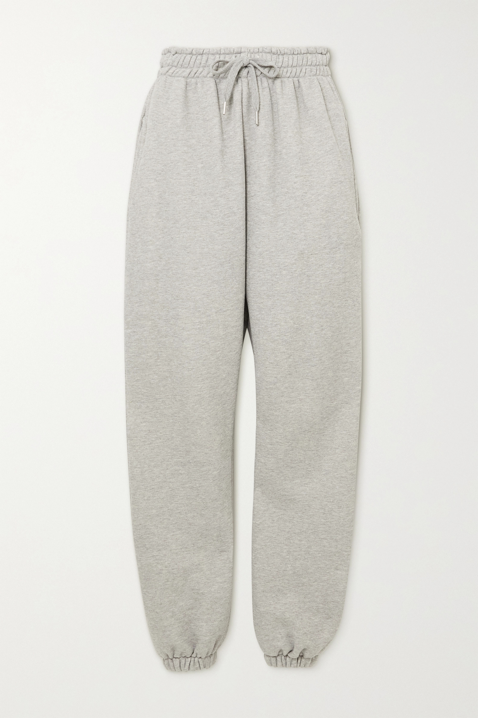 Vanessa cotton-jersey track pants by Frankie, available on net-a-porter.com for $150 Hailey Baldwin Pants Exact Product