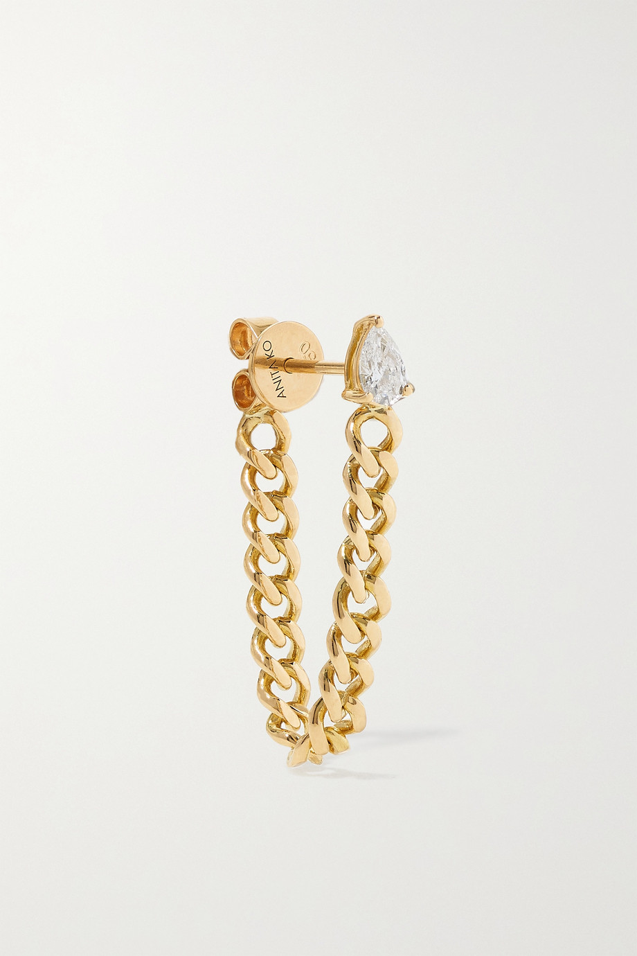 ANITA KO 18-karat gold diamond earring