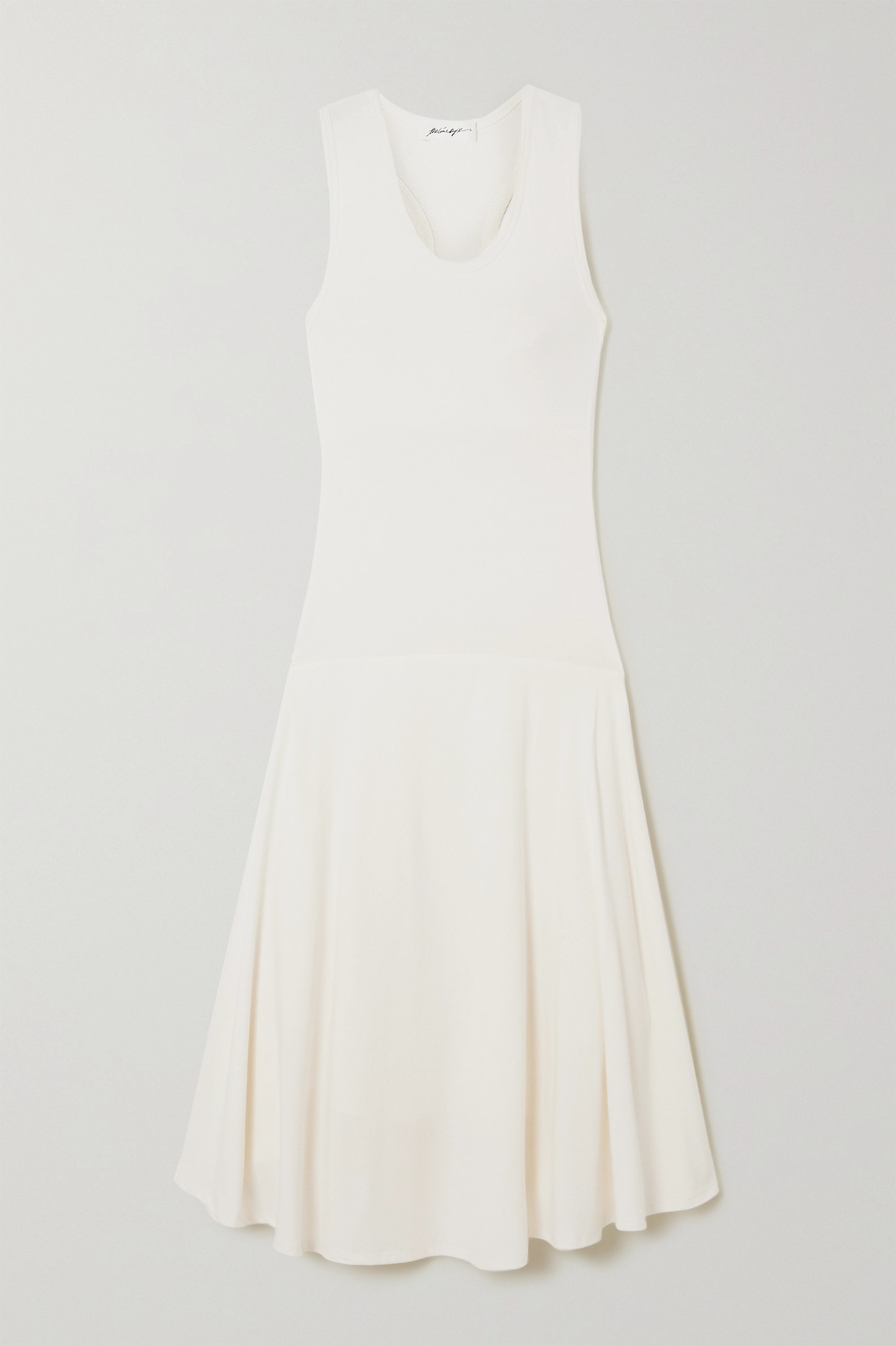 THE LINE BY K - Cian Cutout Stretch-cotton And Modal-blend Jersey Dress - Off-white - x small