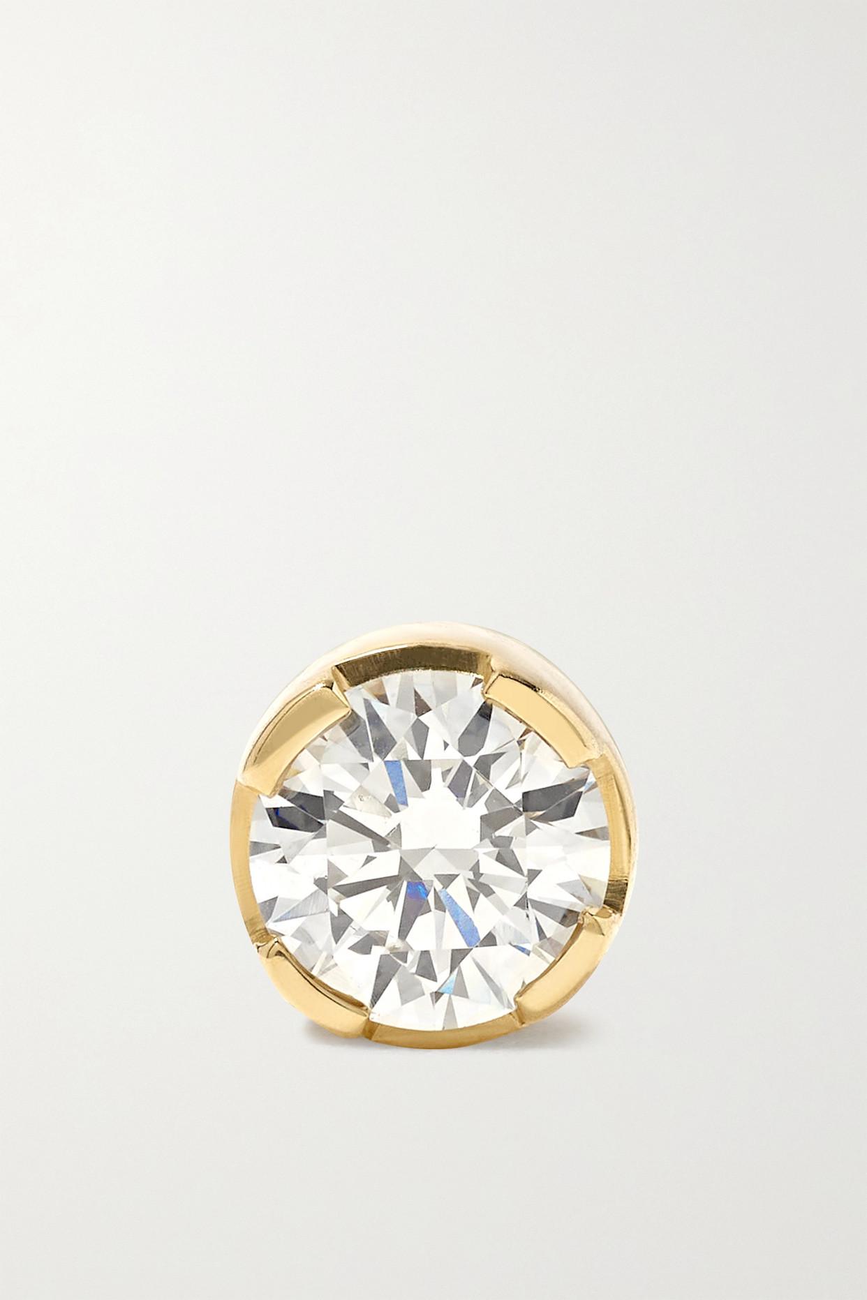 Sophie Bille Brahe 18-karat Gold Diamond Single Earring