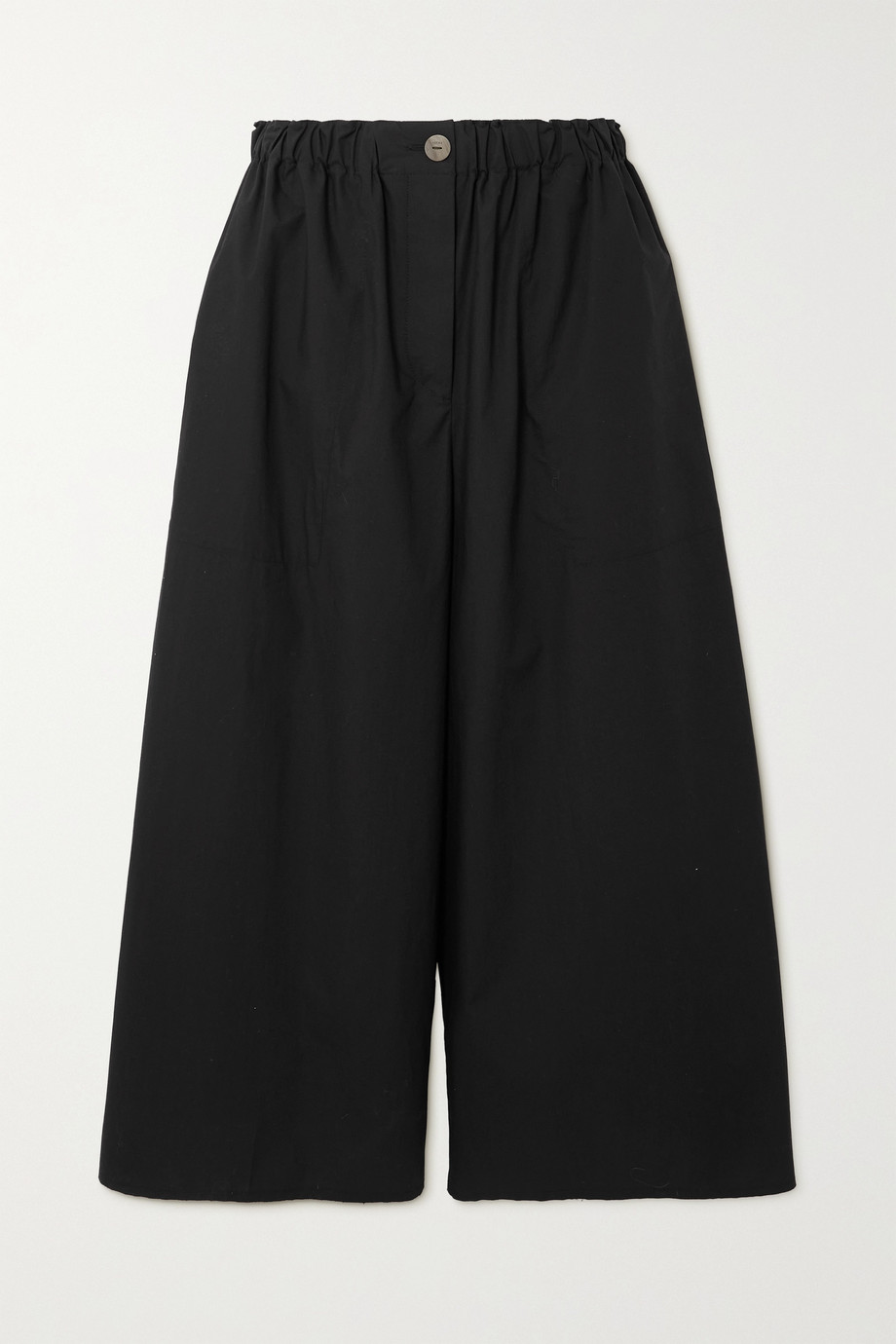 LOEWE + Paula's Ibiza cropped cotton wide-leg pants