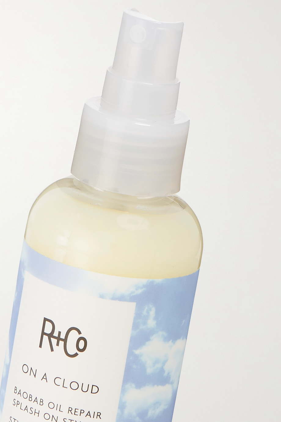 R+CO On a Cloud Baobab Oil Repair Splash-On Styler, 124ml