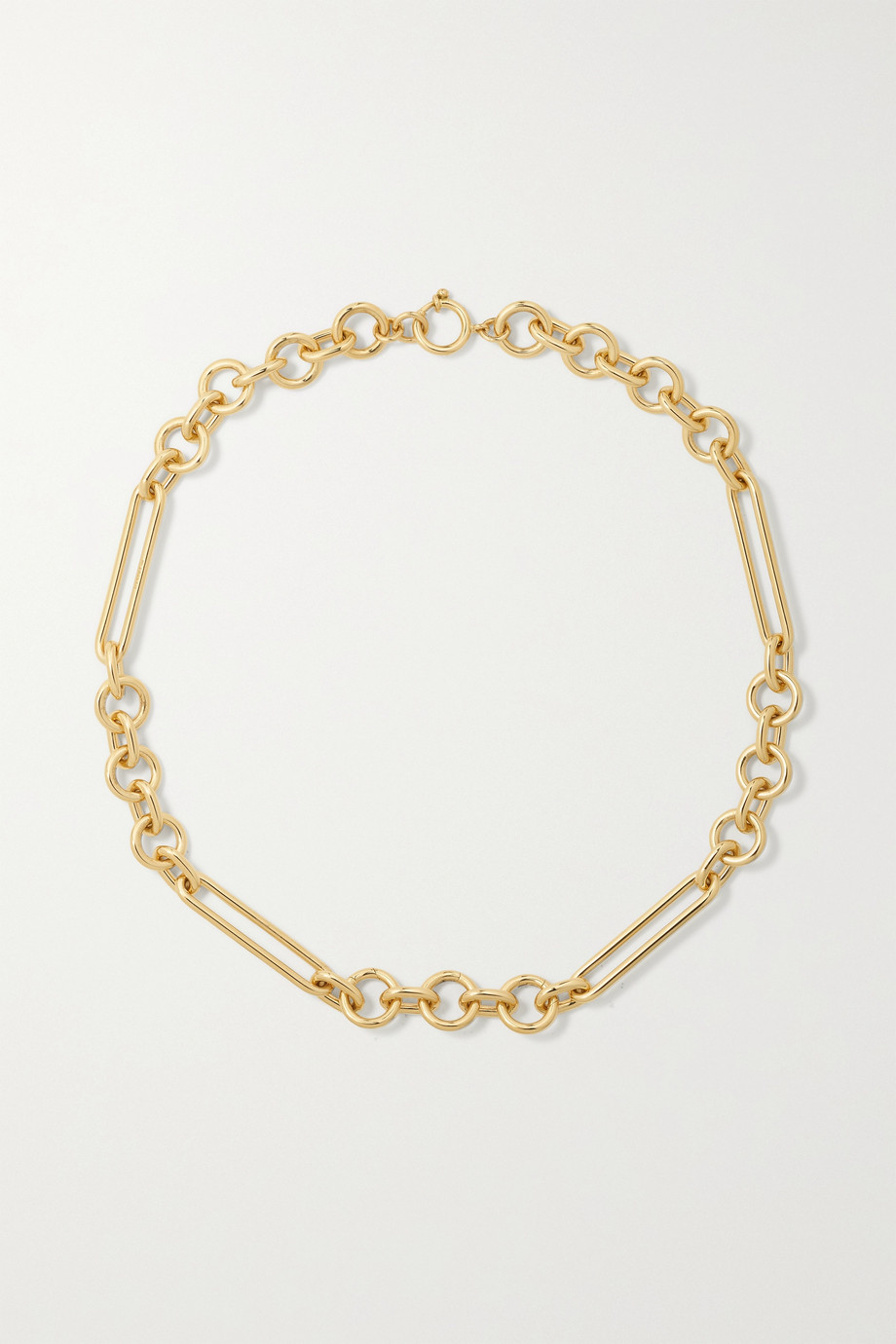 FOUNDRAE + NET SUSTAIN 18-karat recycled gold necklace