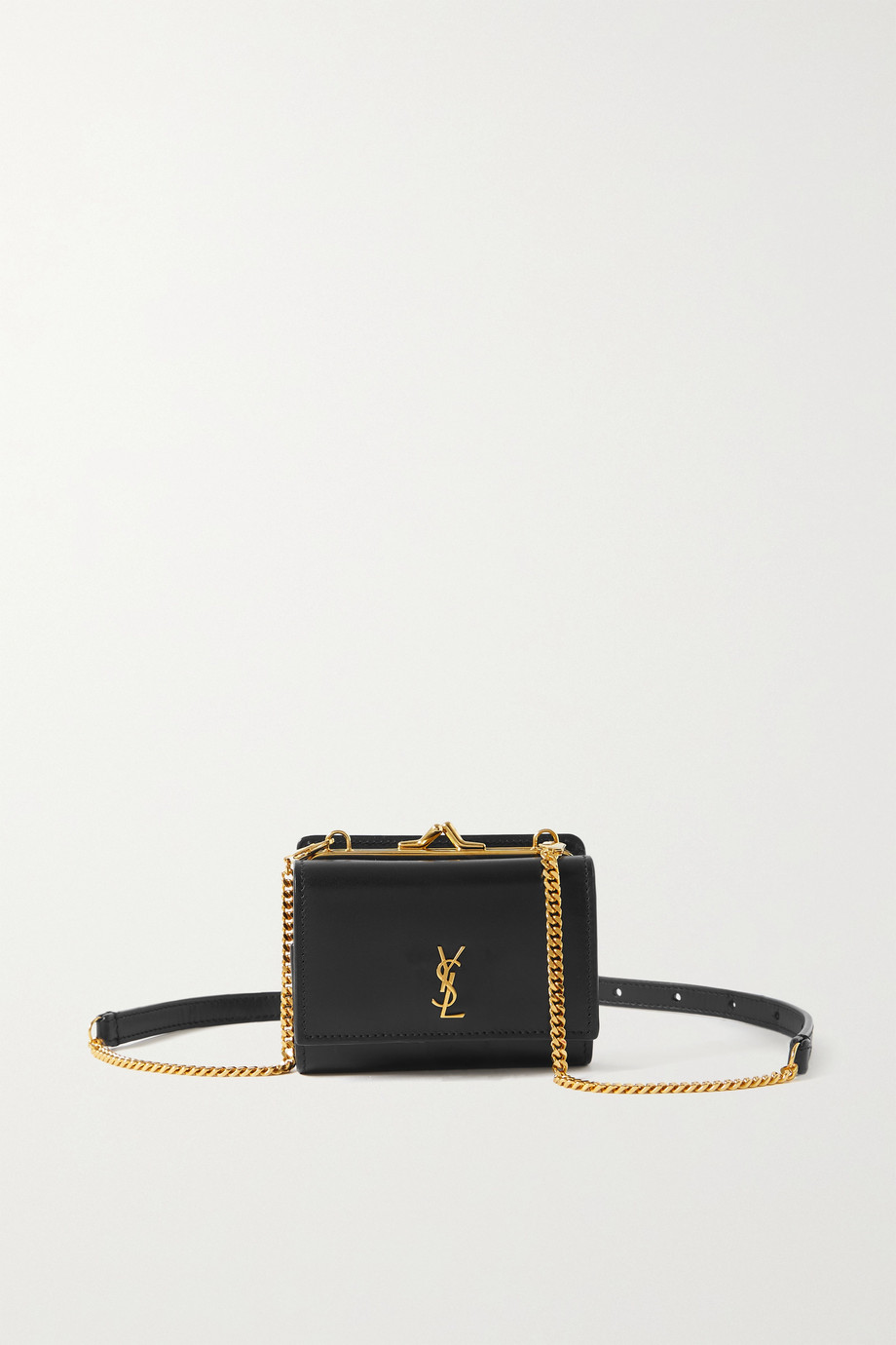 SAINT LAURENT Marsupio mini leather shoulder bag