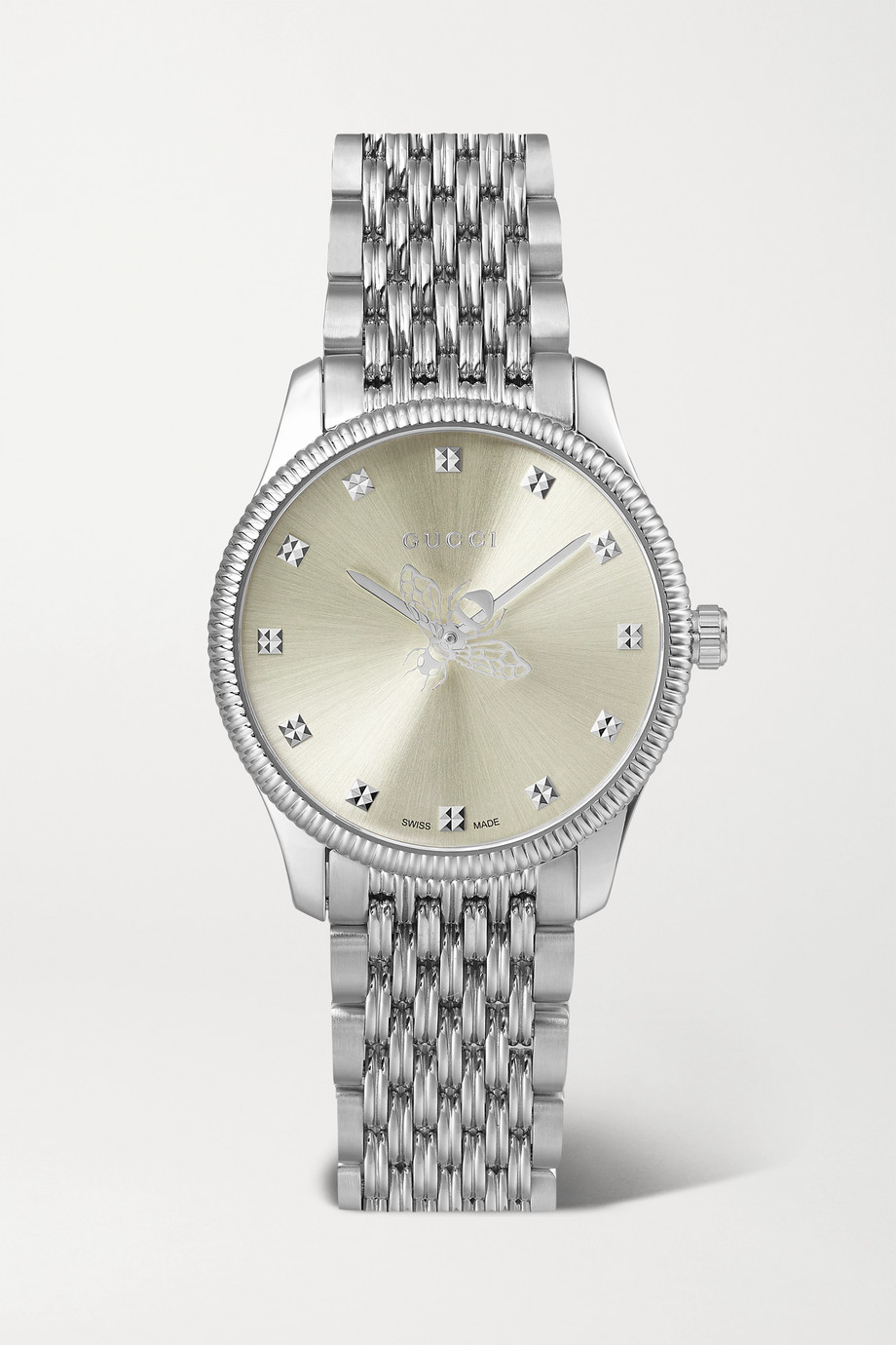 GUCCI G-Timeless 29mm stainless steel watch