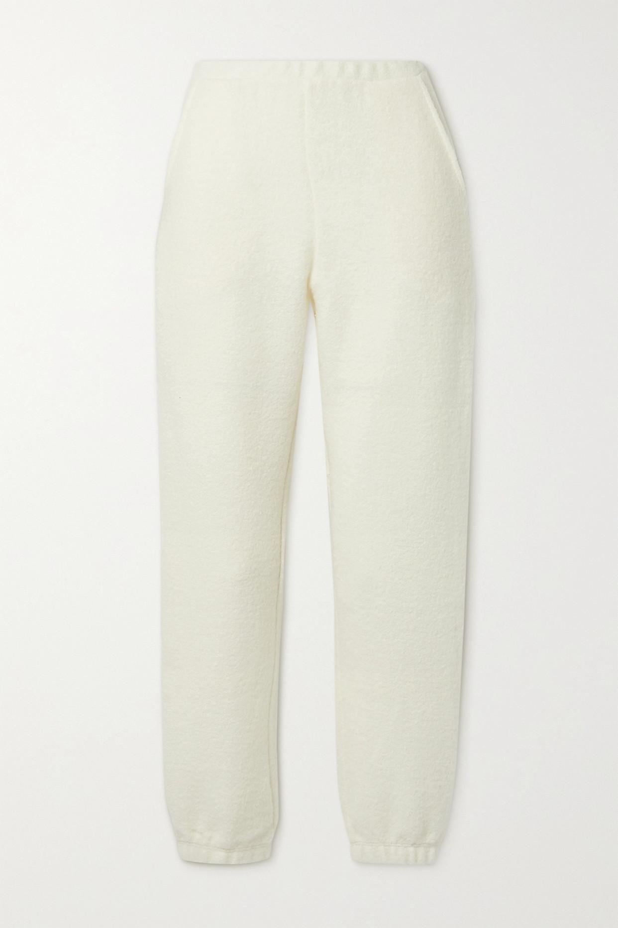 LESET - Bella 羊毛混纺休闲裤 - 奶油色 - medium