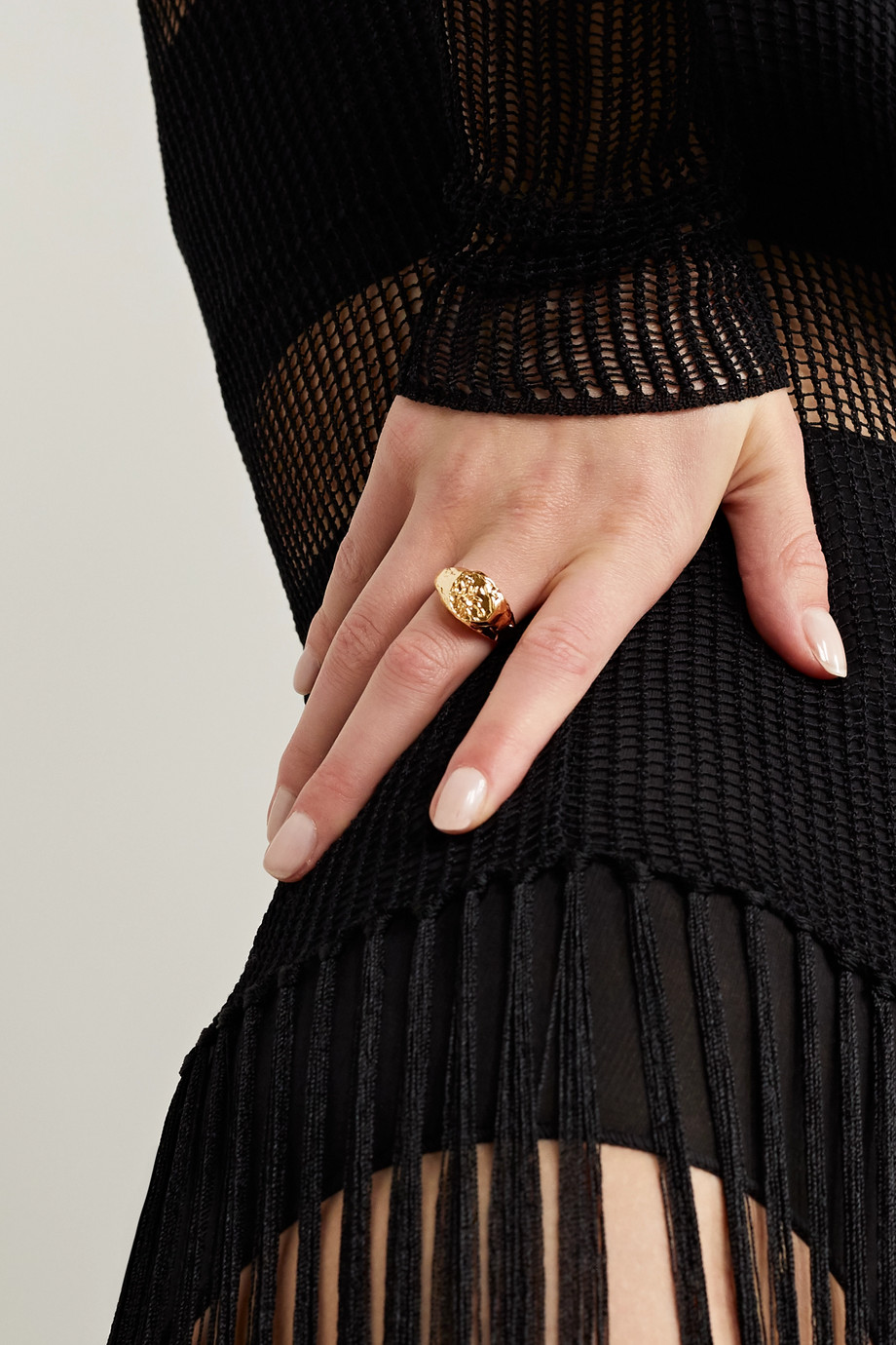 ALIGHIERI Scorpio gold-plated ring