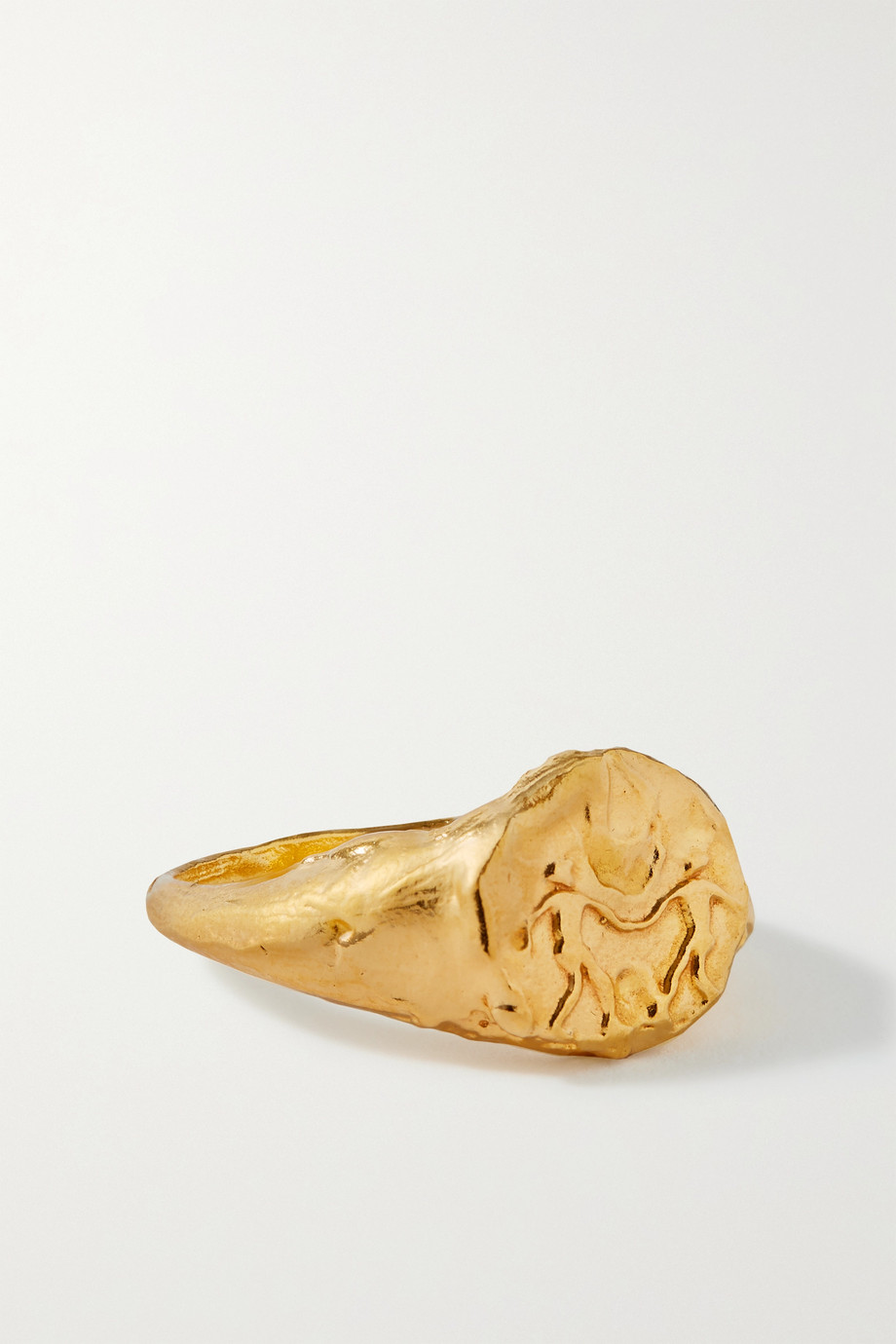 ALIGHIERI Gemini gold-plated ring
