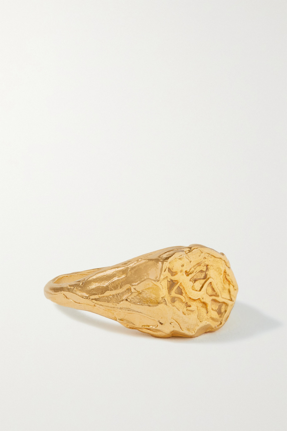 ALIGHIERI Virgo gold-plated ring