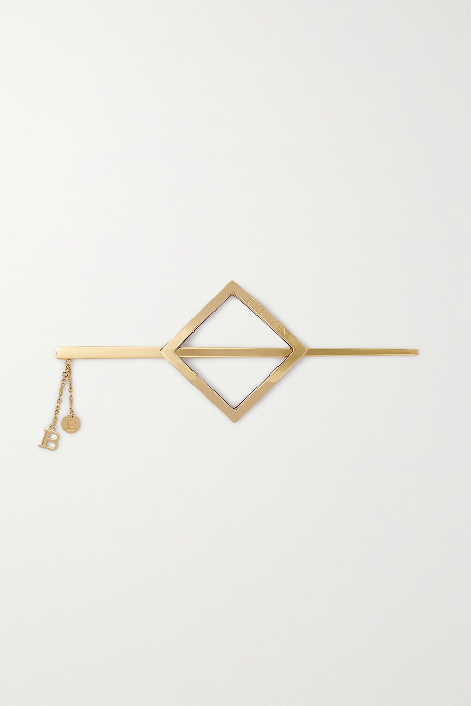 BALMAIN PARIS HAIR COUTURE Gold-plated hair pin