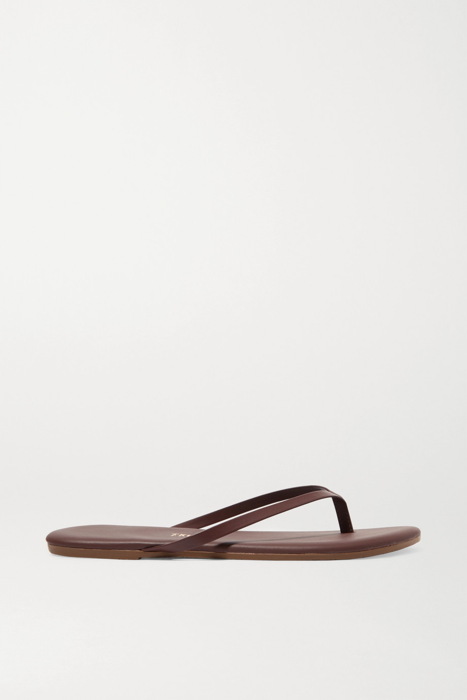 TKEES Lily leather flip flops