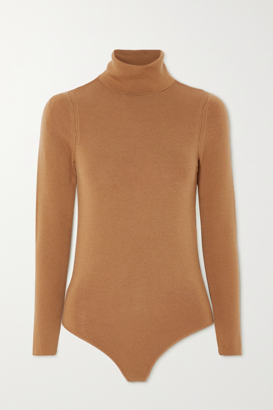 LOULOU STUDIO Galora wool turtleneck bodysuit