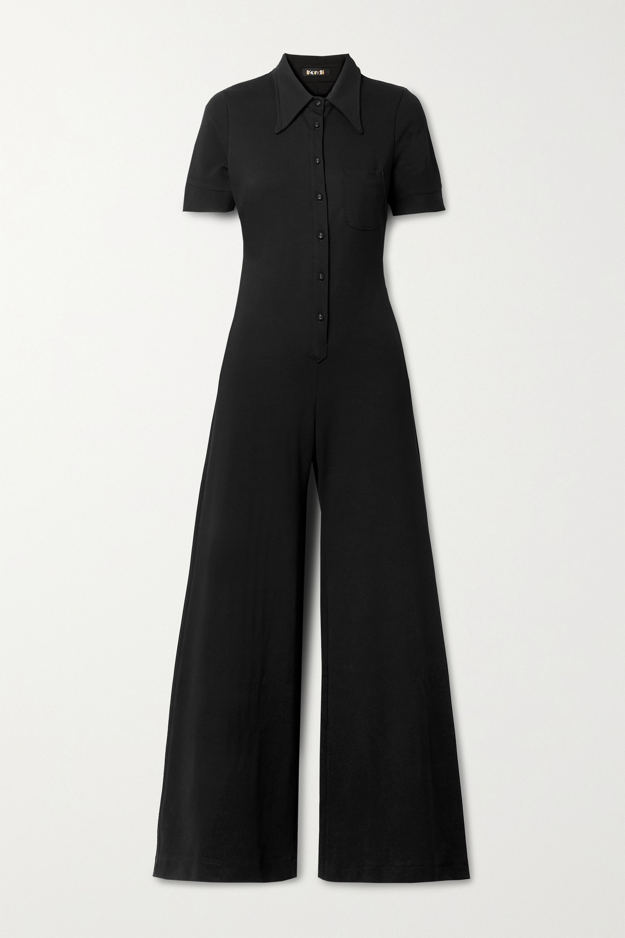 SUZIE KONDI Stretch-ponte jumpsuit