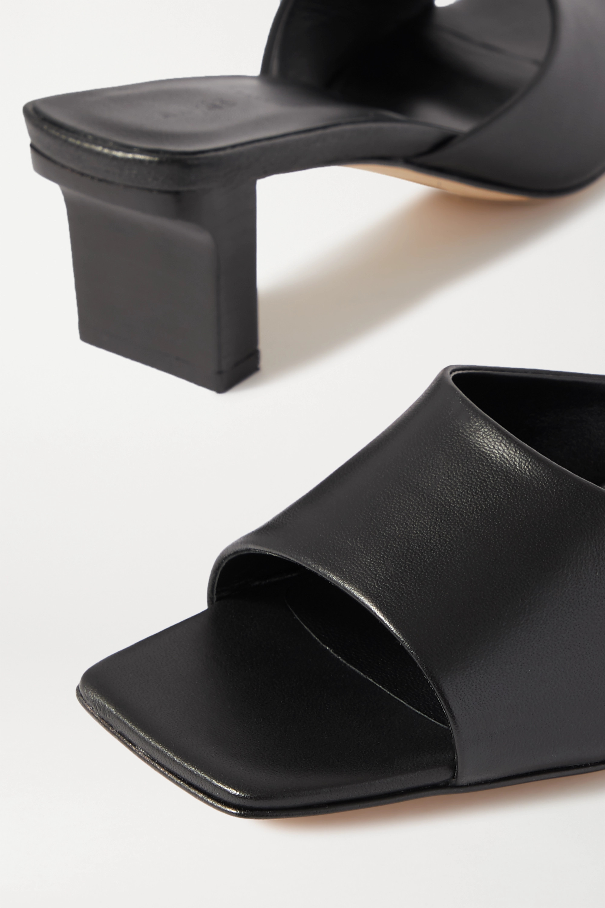 AEYDE Katti leather mules