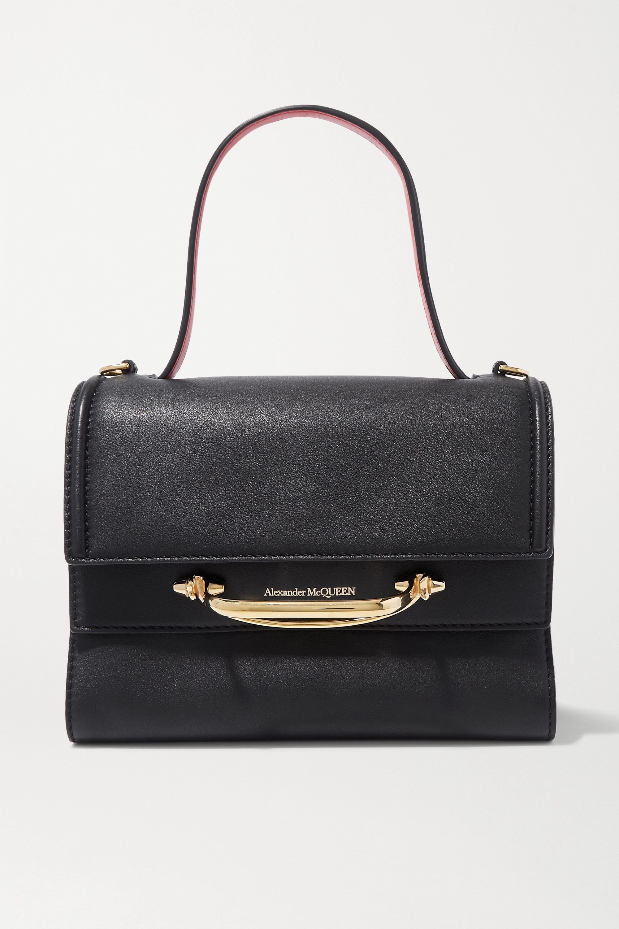 ALEXANDER MCQUEEN The Story small two-tone leather tote