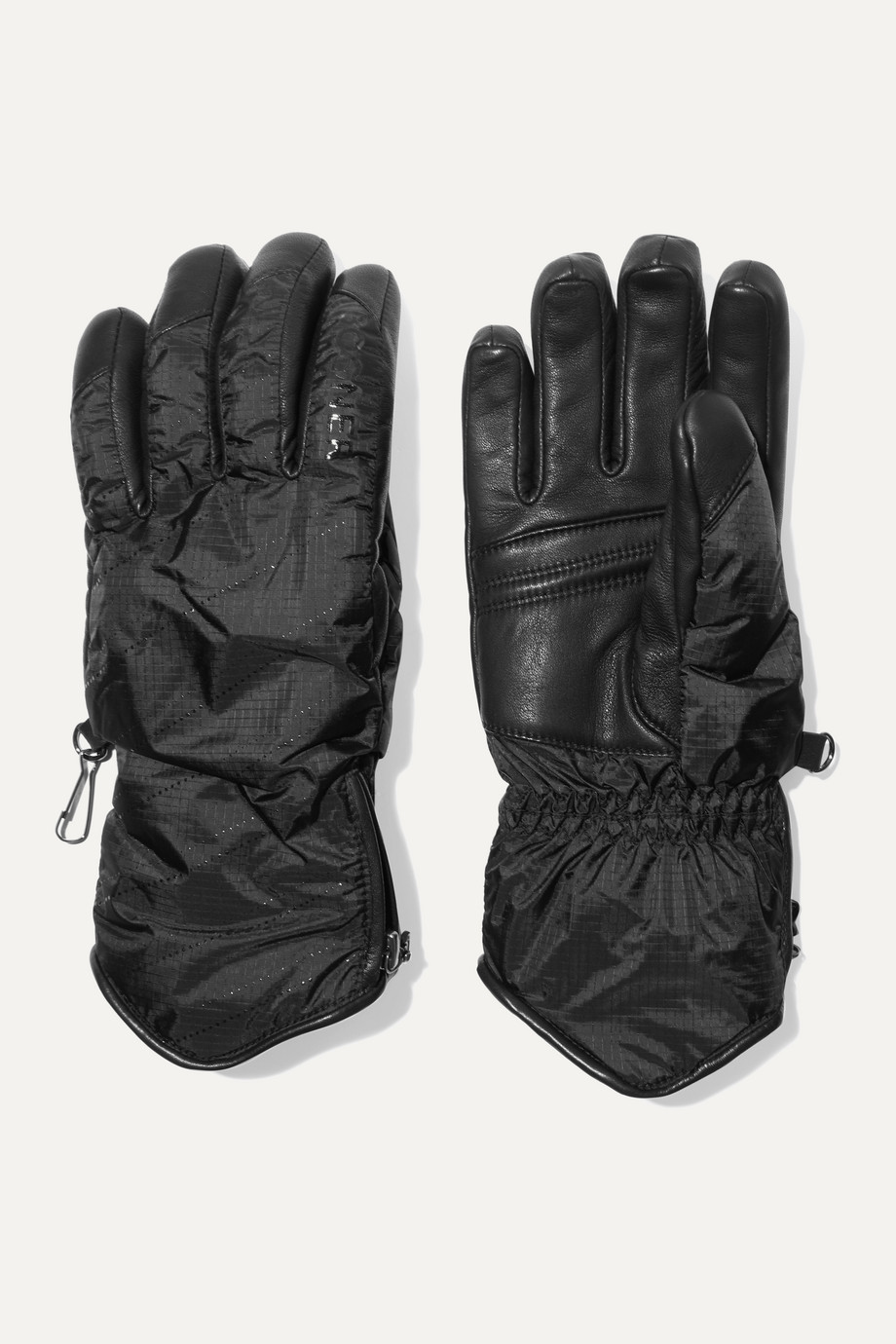 BOGNER Baca padded leather and shell gloves