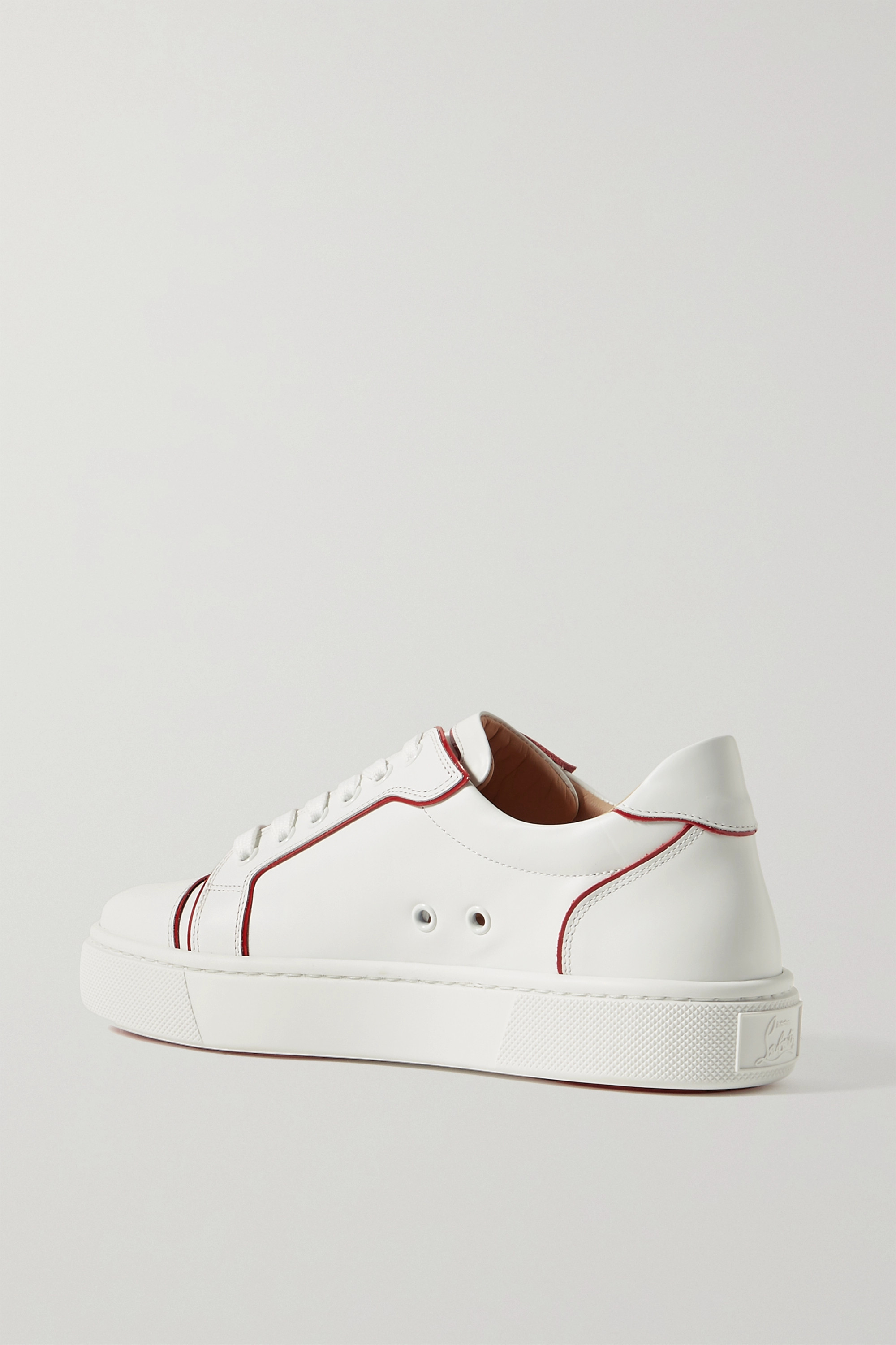 CHRISTIAN LOUBOUTIN Vieirissima two-tone leather sneakers