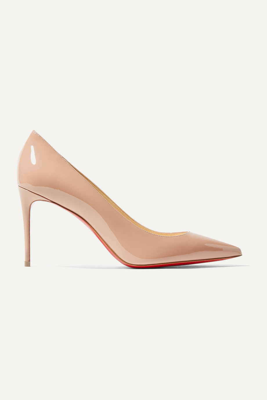 CHRISTIAN LOUBOUTIN Kate 85 patent-leather pumps