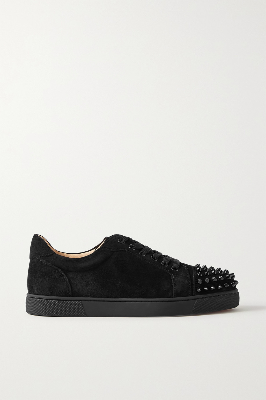 CHRISTIAN LOUBOUTIN Vieira spiked suede sneakers