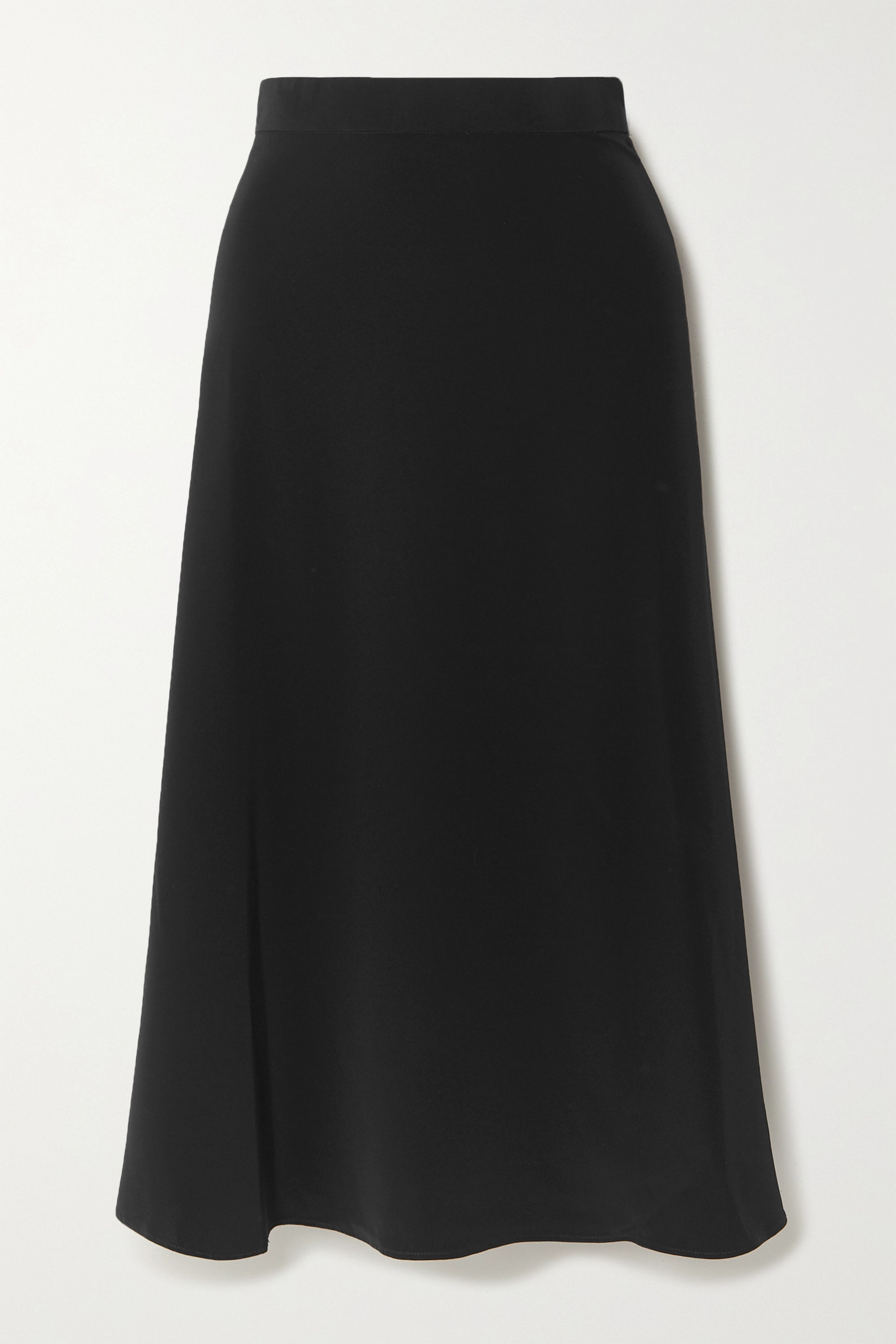 CO Crepe midi skirt