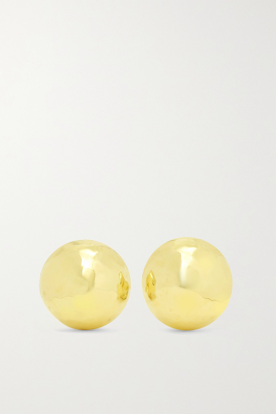 IPPOLITA Classico Pinball 18-karat gold clip earrings