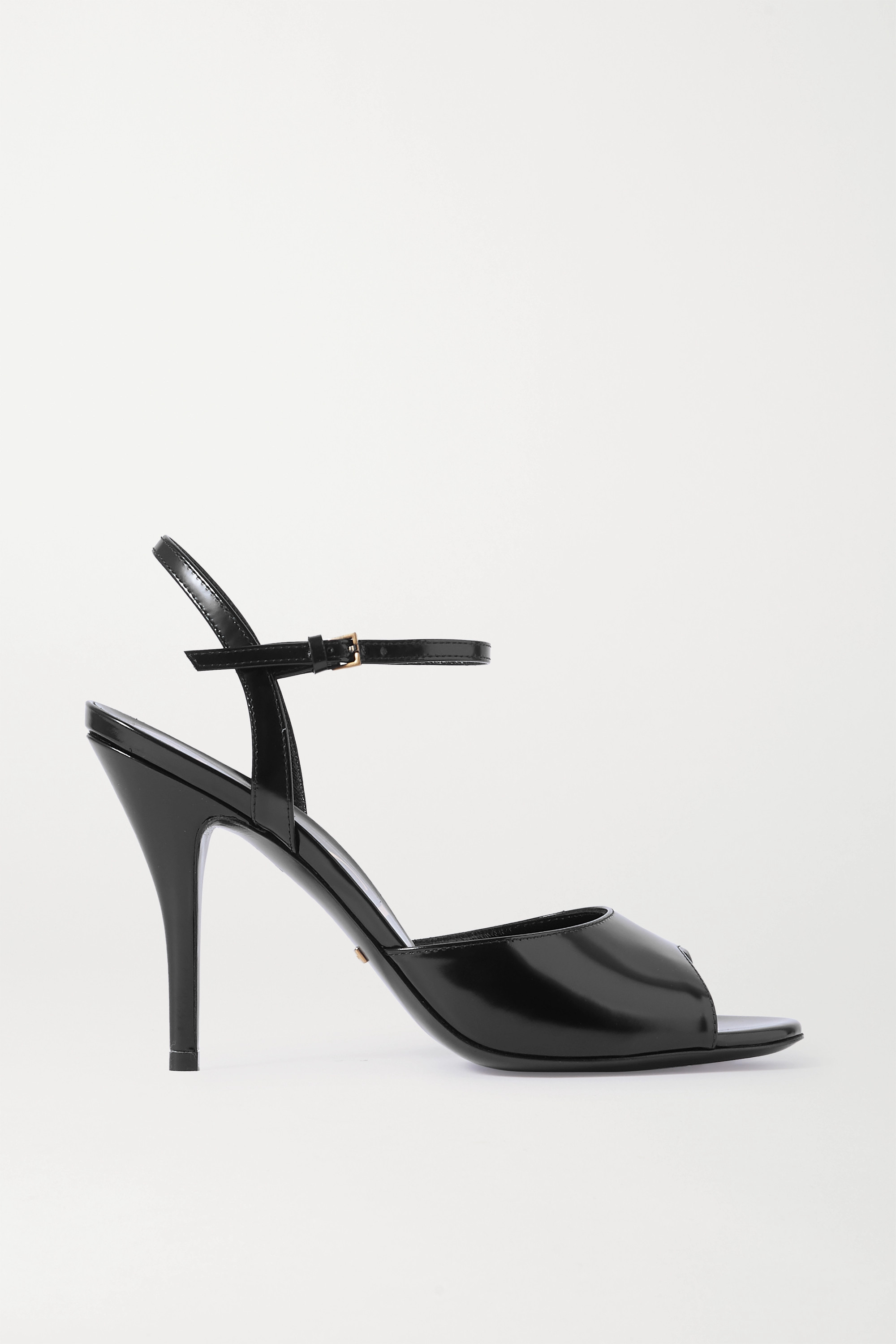 GUCCI Scarlet patent-leather sandals