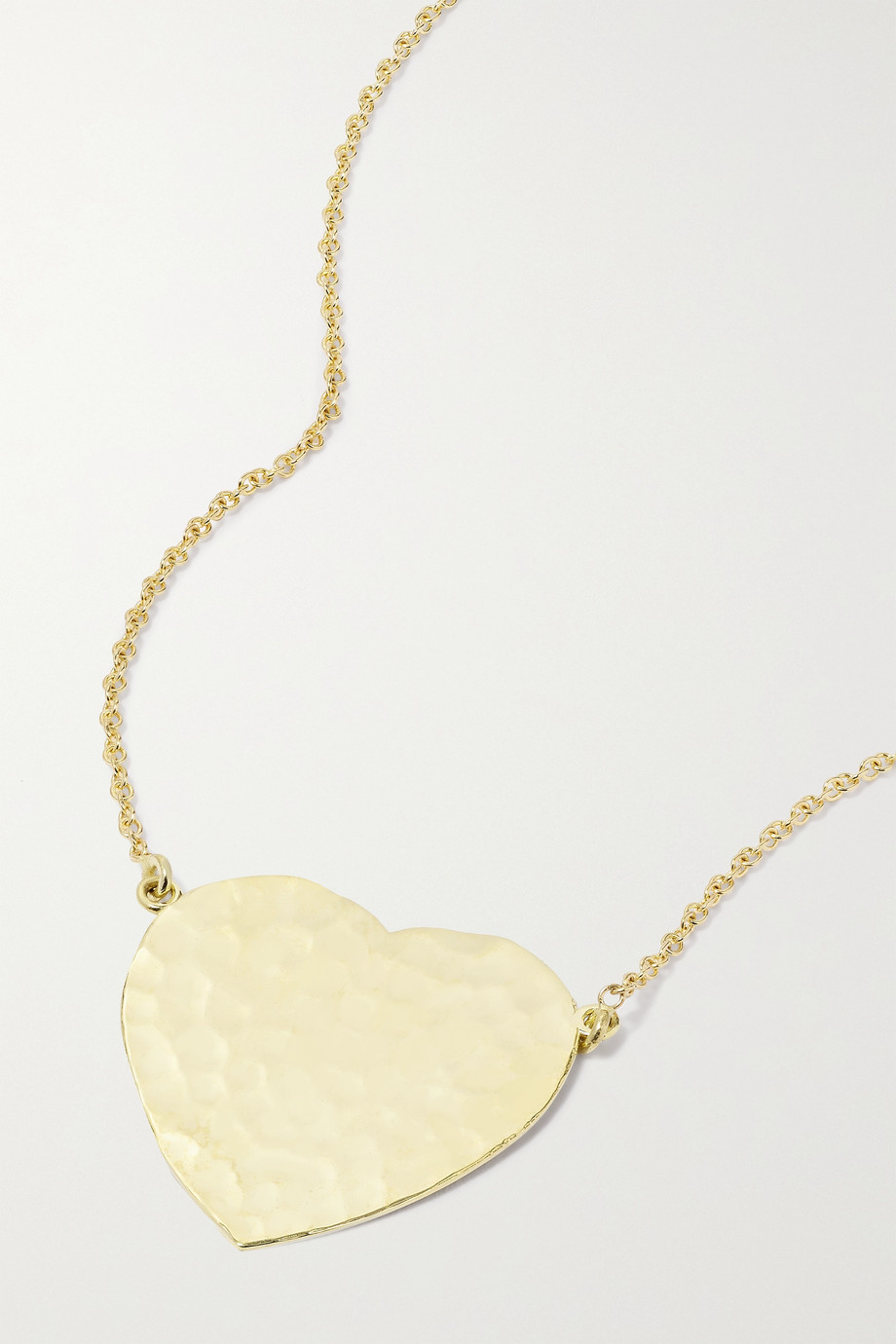 JENNIFER MEYER Hammered 18-karat gold necklace