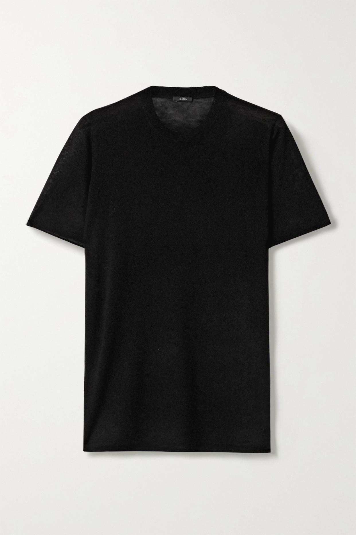 JOSEPH - Cashmere Sweater - Black - x small