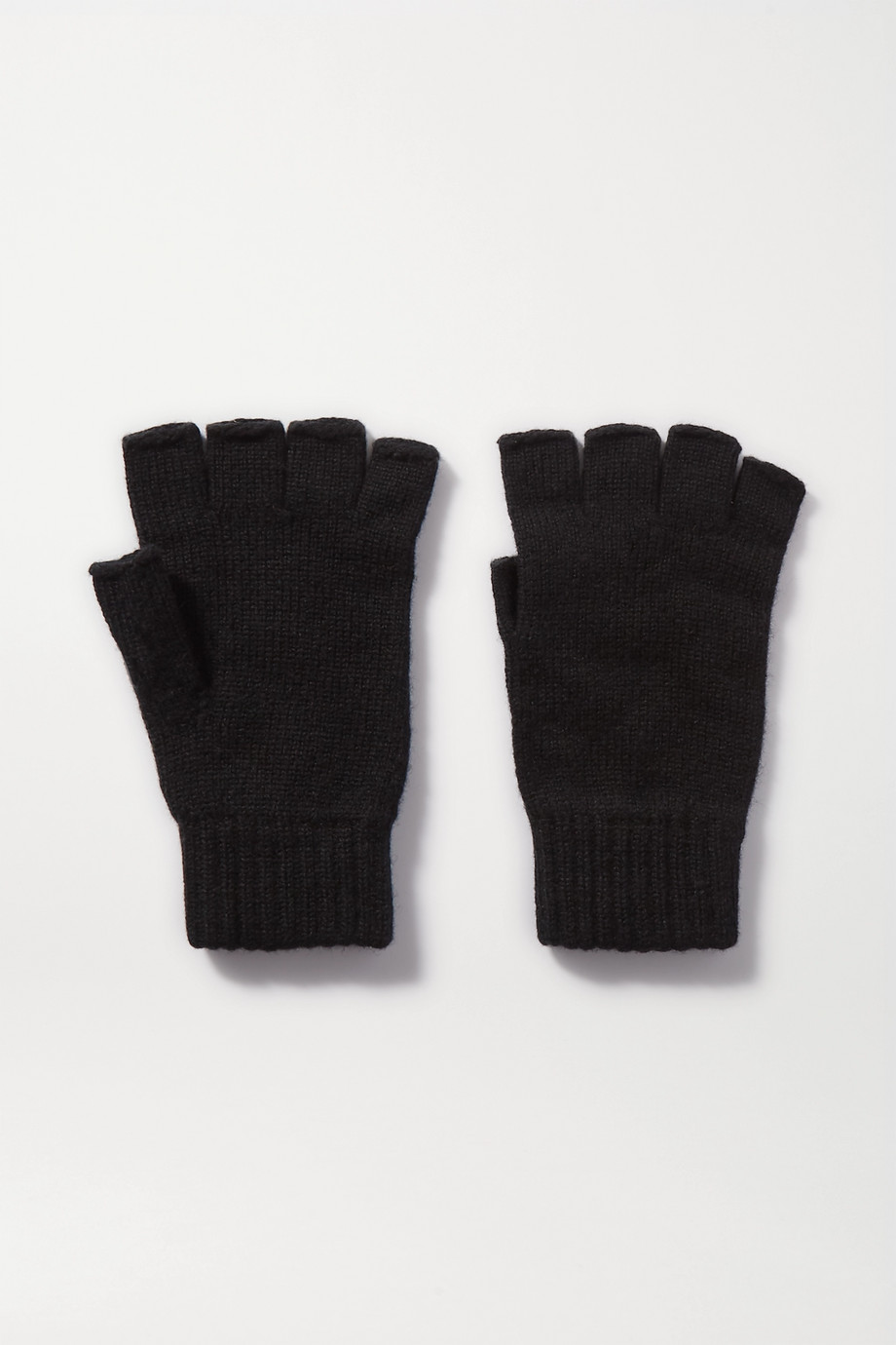 JOHNSTONS OF ELGIN Cashmere fingerless gloves