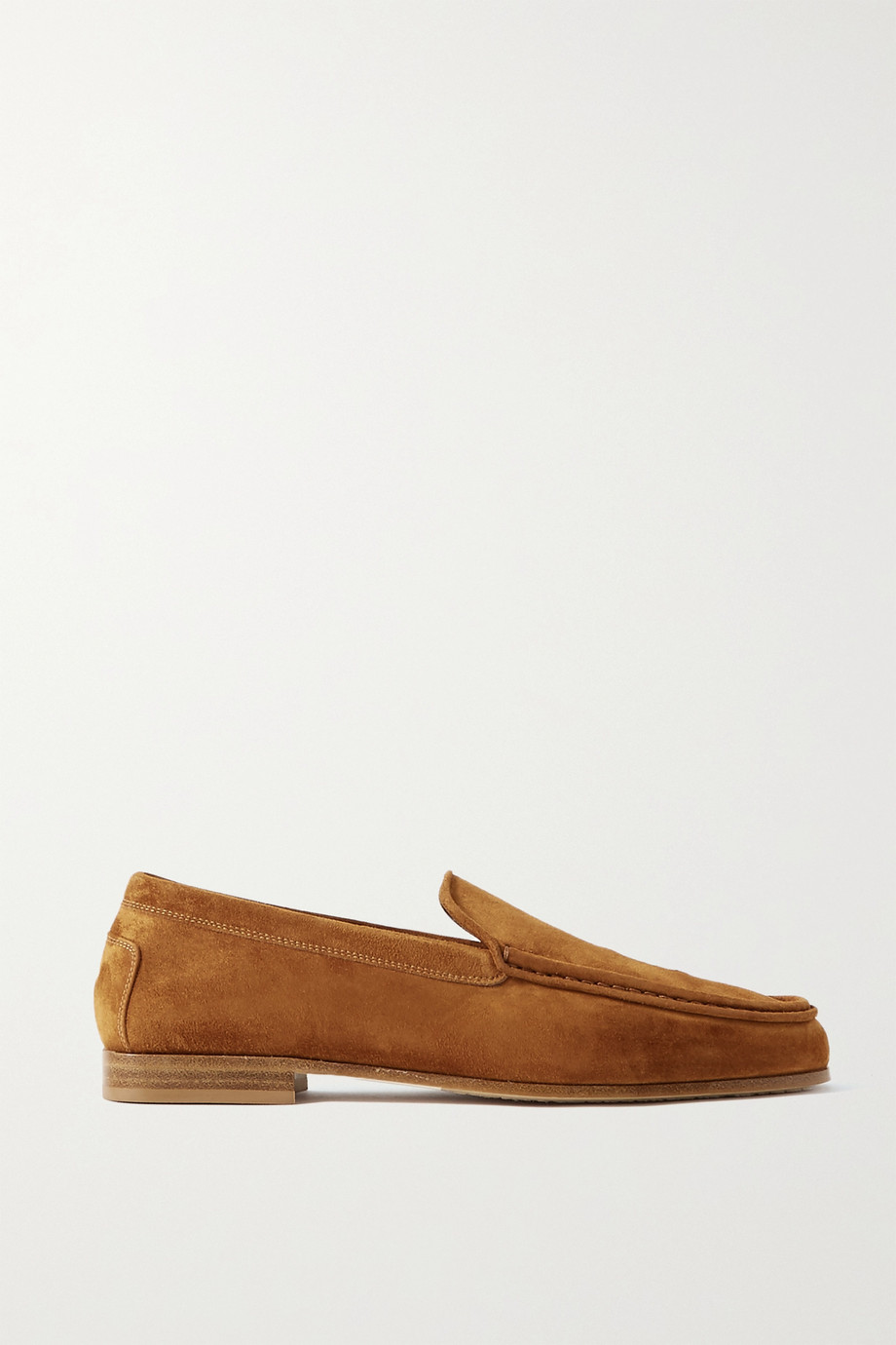 KHAITE Suede loafers