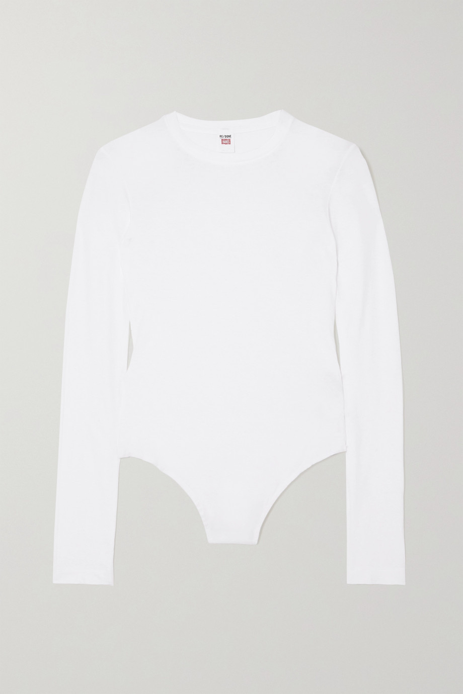 RE/DONE Cotton-jersey bodysuit