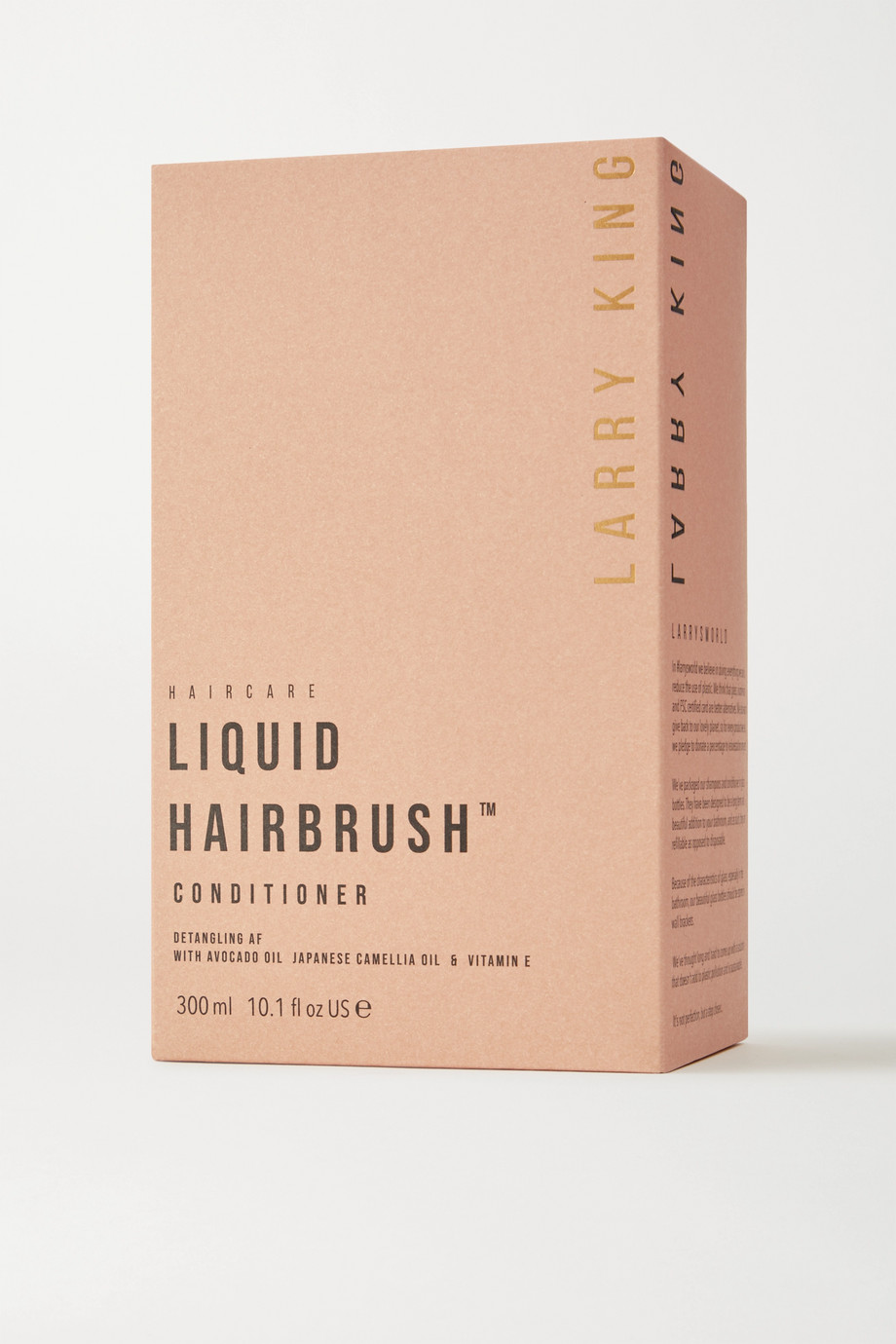 LARRY KING Liquid Hairbrush Conditioner, 300ml