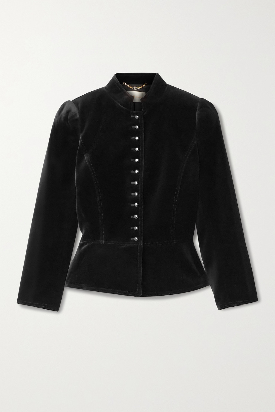 TORY BURCH Cotton-blend velvet jacket