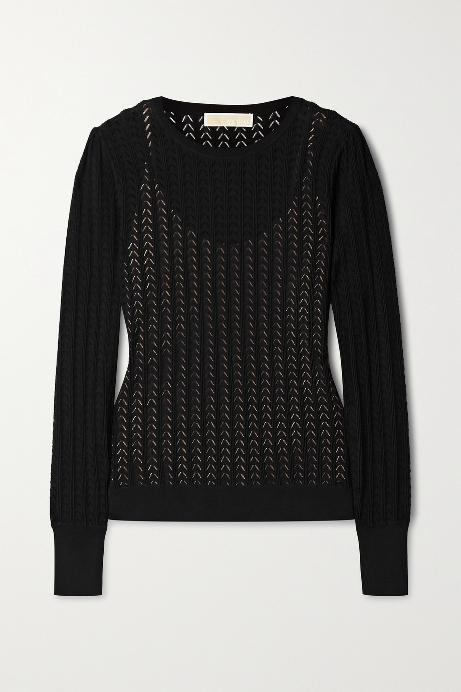 MICHAEL MICHAEL KORS Pointelle-knit sweater