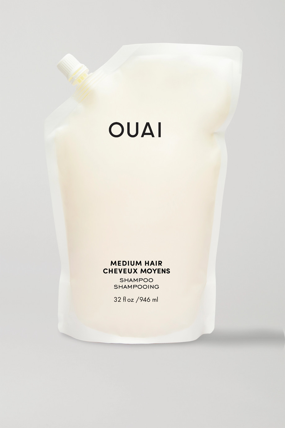 OUAI HAIRCARE Medium Hair Shampoo Refill, 946ml