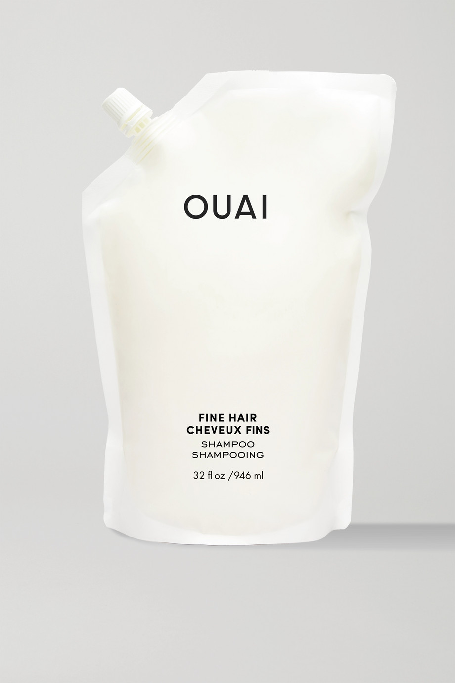 OUAI HAIRCARE Fine Hair Shampoo Refill, 946ml