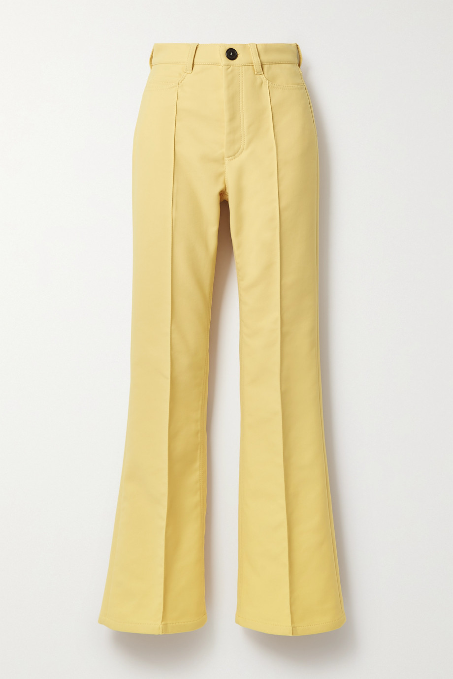 Twill flared pants by MERYLL ROGGE, available on net-a-porter.com for $470.86 Kendall Jenner Pants Exact Product