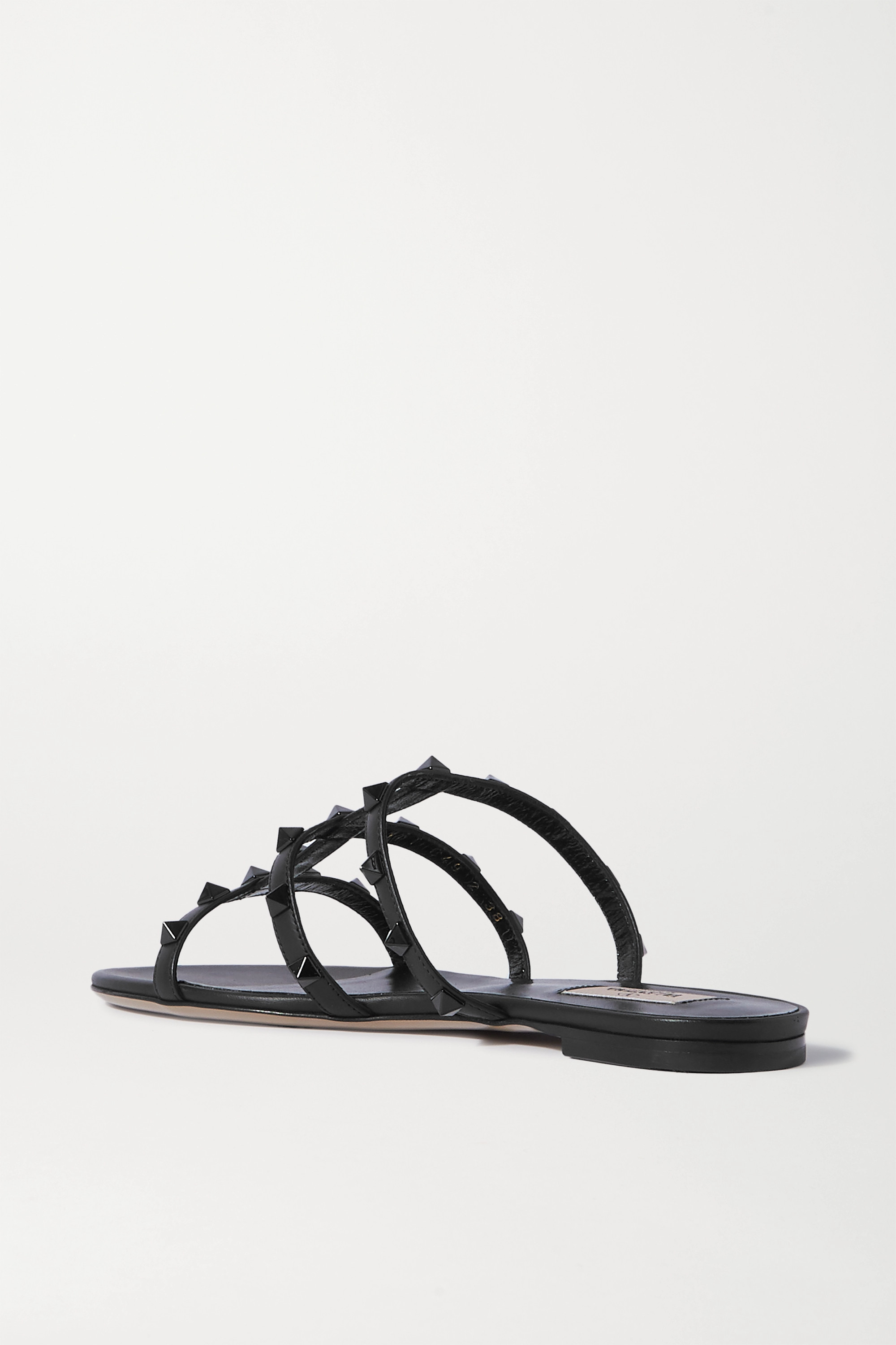 VALENTINO Valentino Garavani  Rockstud leather sandals
