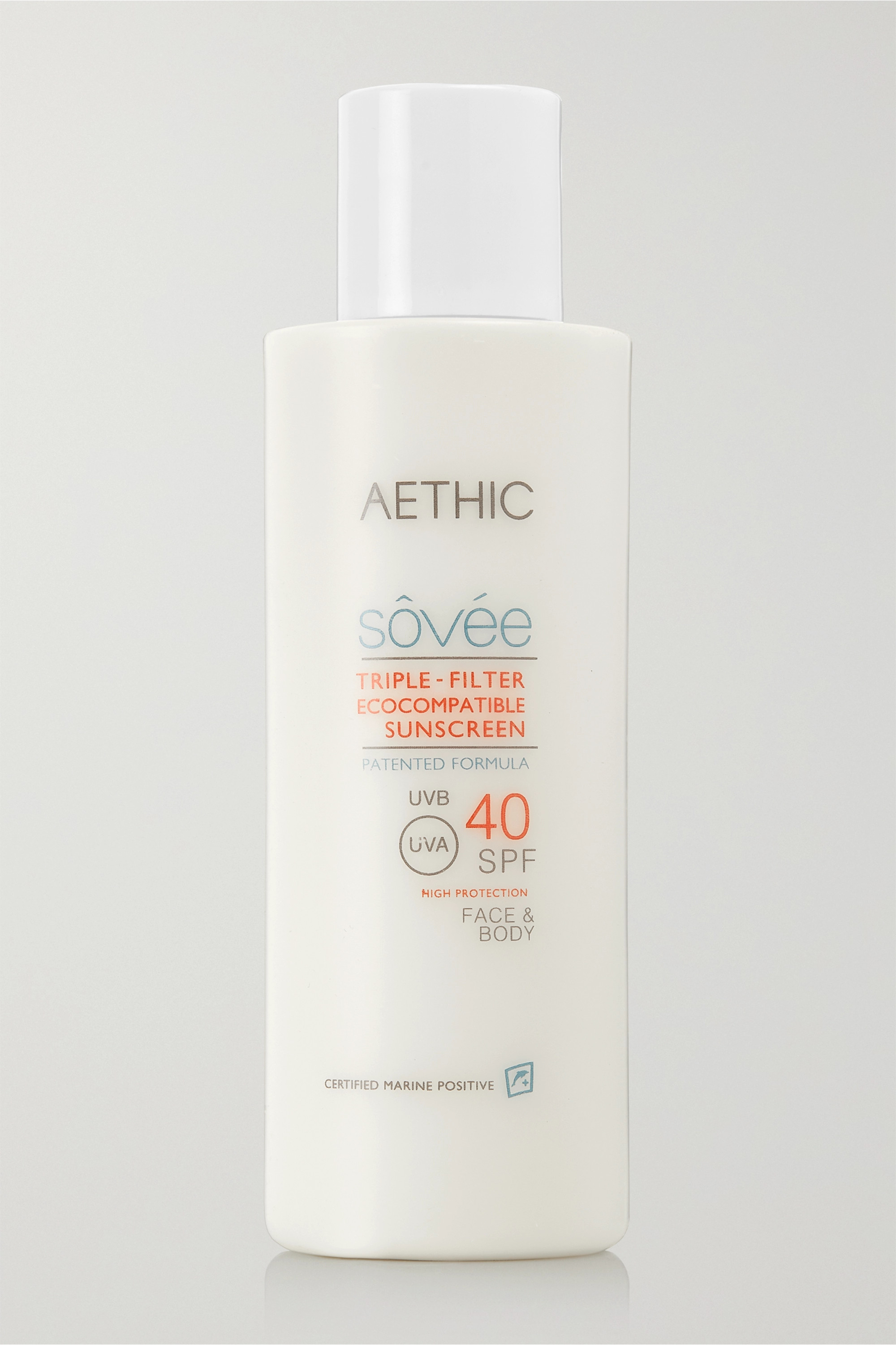 AETHIC Triple-Filter Ecocompatible Sunscreen SPF40, 150ml