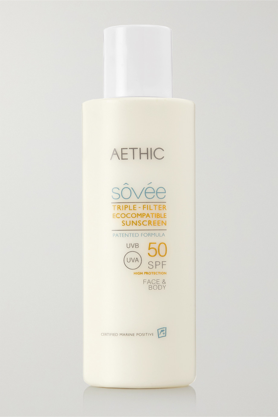 AETHIC Triple-Filter Ecocompatible Sunscreen SPF50, 150ml