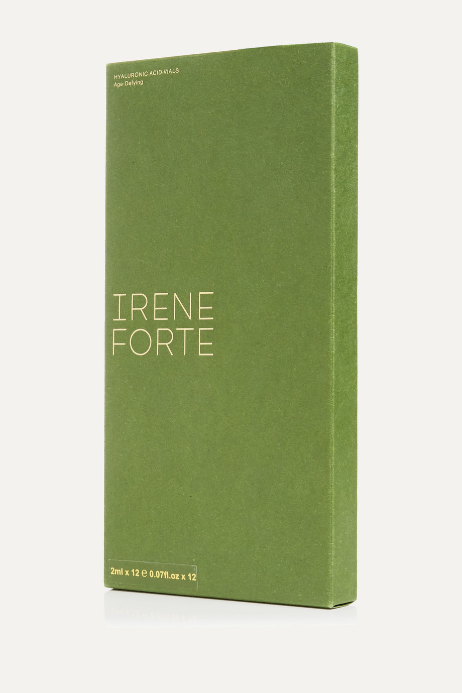 Irene Forte + NET SUSTAIN Hyaluronic Acid Vials - Age-Defying, 12 x 2ml