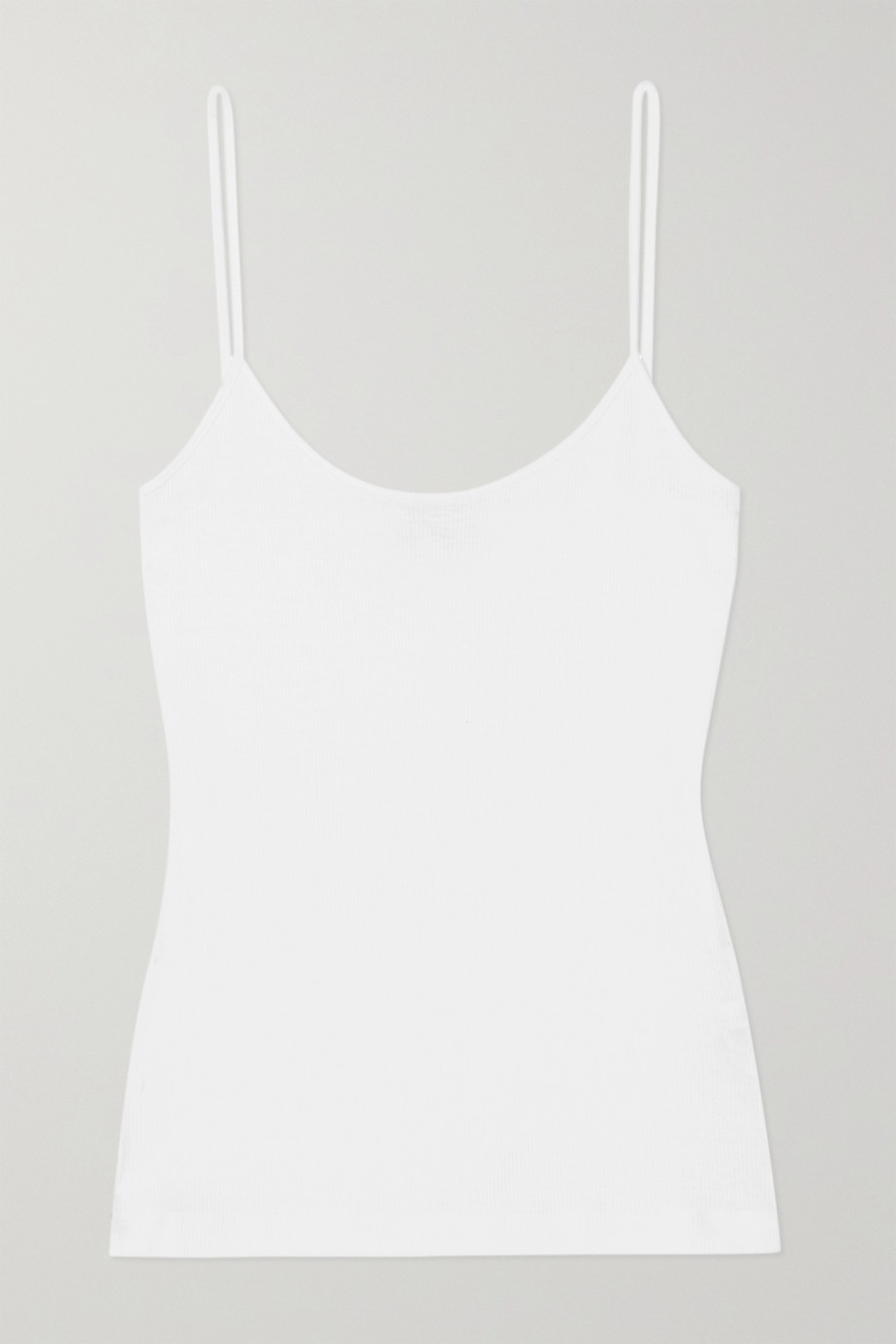 NINETY PERCENT + NET SUSTAIN ribbed organic cotton-jersey camisole