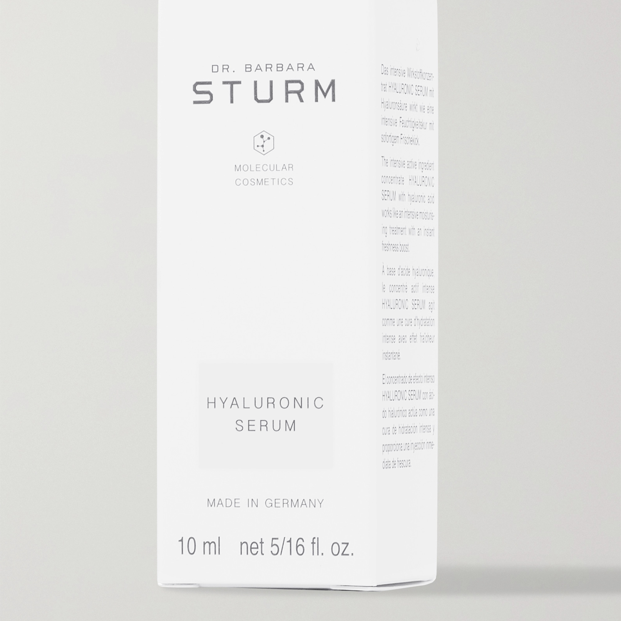 DR. BARBARA STURM Hyaluronic Serum, 10ml