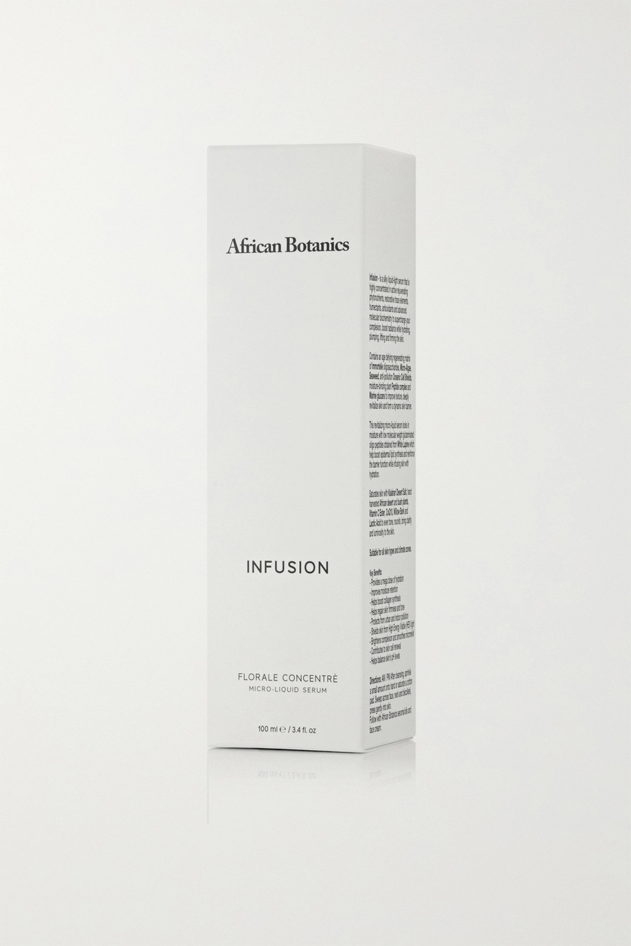 AFRICAN BOTANICS + NET SUSTAIN Infusion Floral Concentrate Micro-Liquid Serum, 100ml