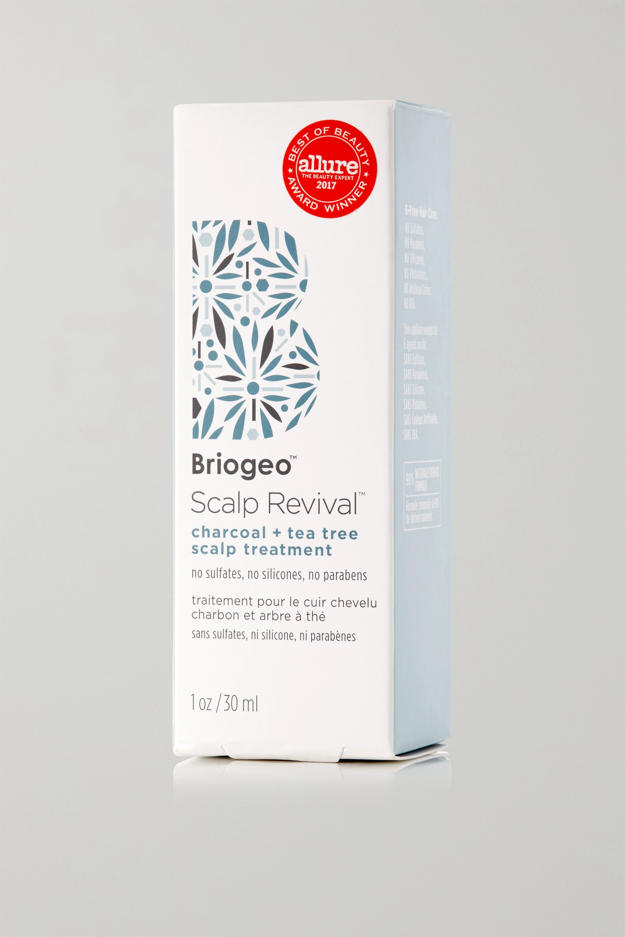 BRIOGEO Scalp Revival Charcoal + Tea Tree Scalp Treatment, 30ml