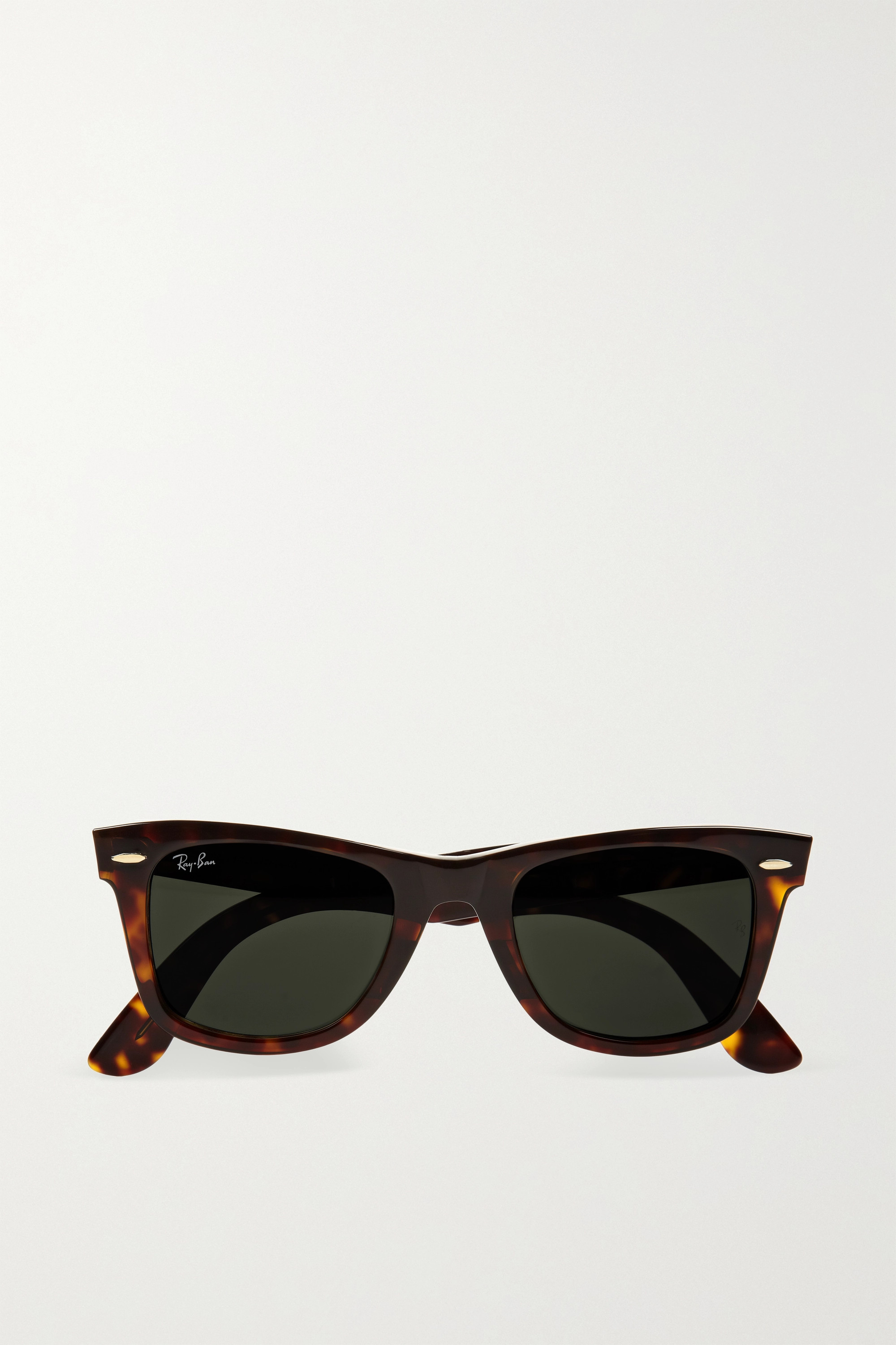 RAY-BAN Wayfarer square-frame acetate sunglasses