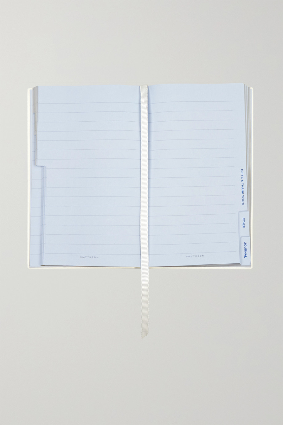 SMYTHSON Panama Mummy To Be textured-leather notebook