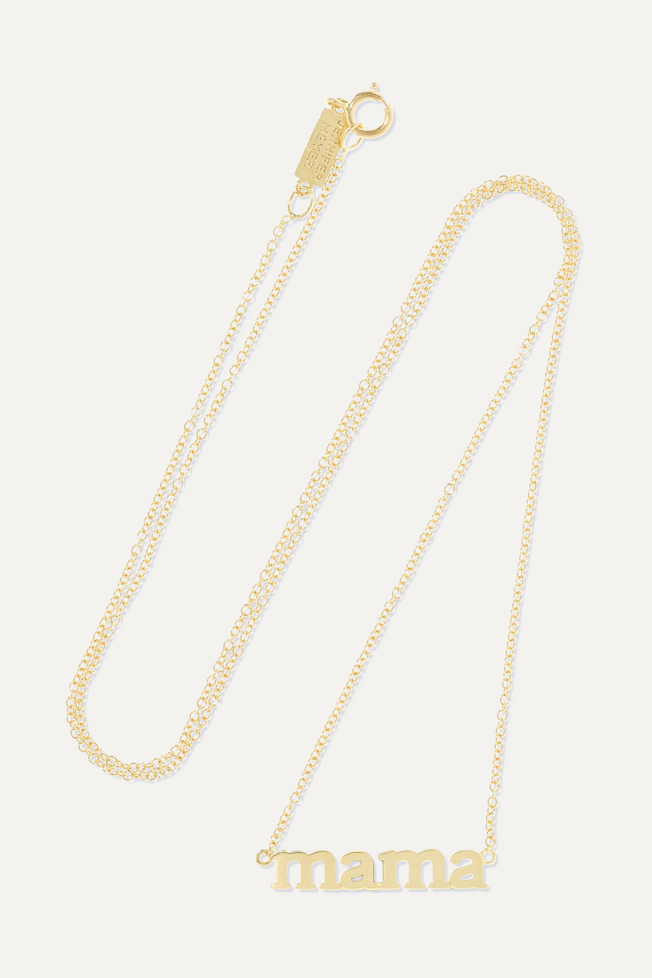 JENNIFER MEYER Mama 18-karat gold necklace
