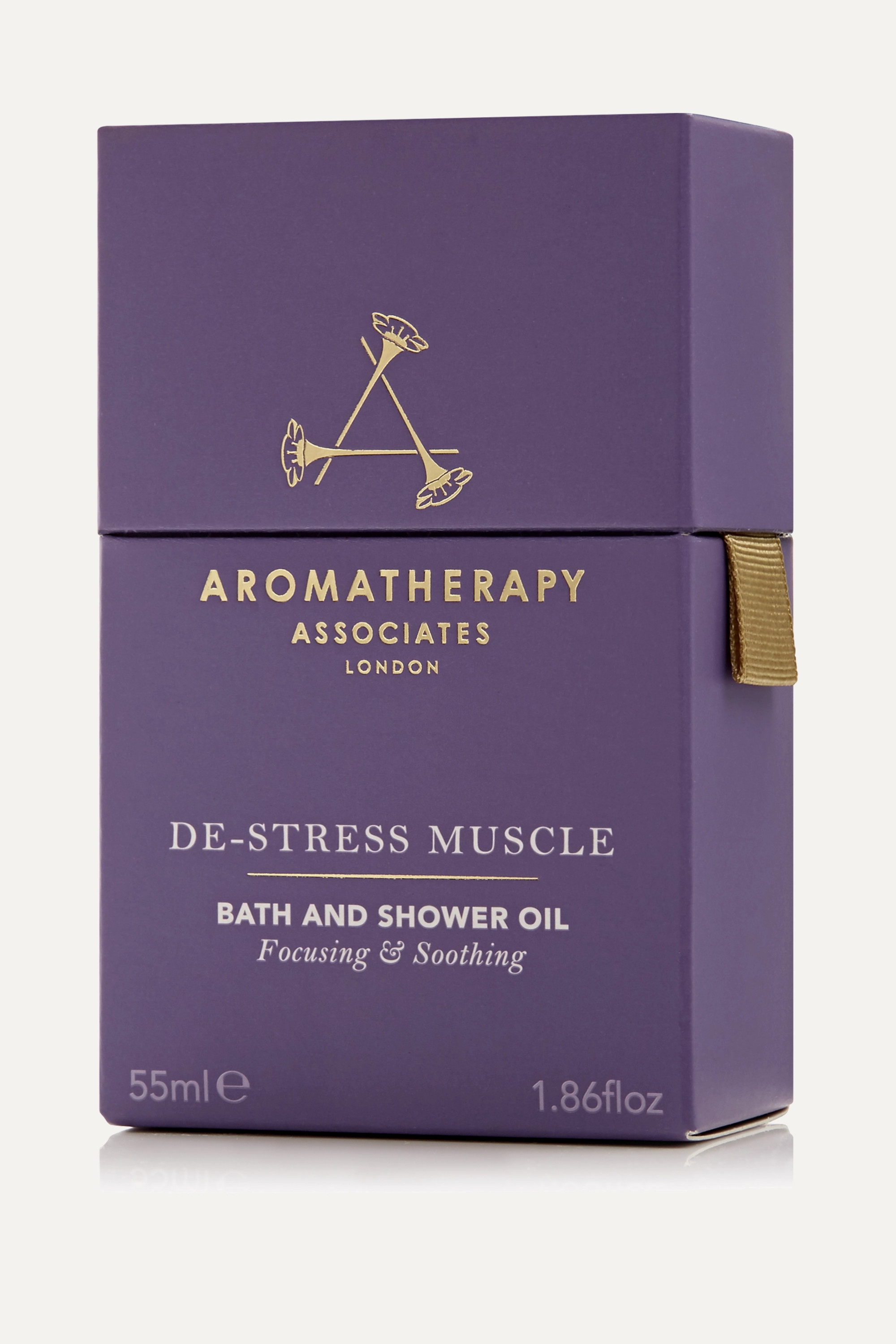 AROMATHERAPY ASSOCIATES De-Stress Muscle Bath and Shower Oil, 55ml