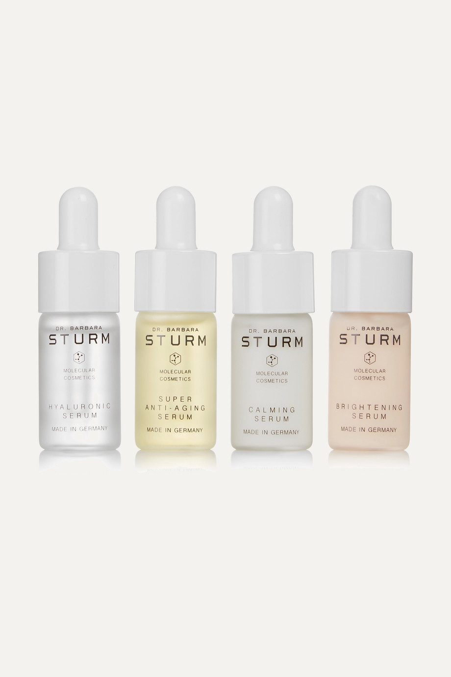 DR. BARBARA STURM Serum Discovery Set, 4 x 10ml